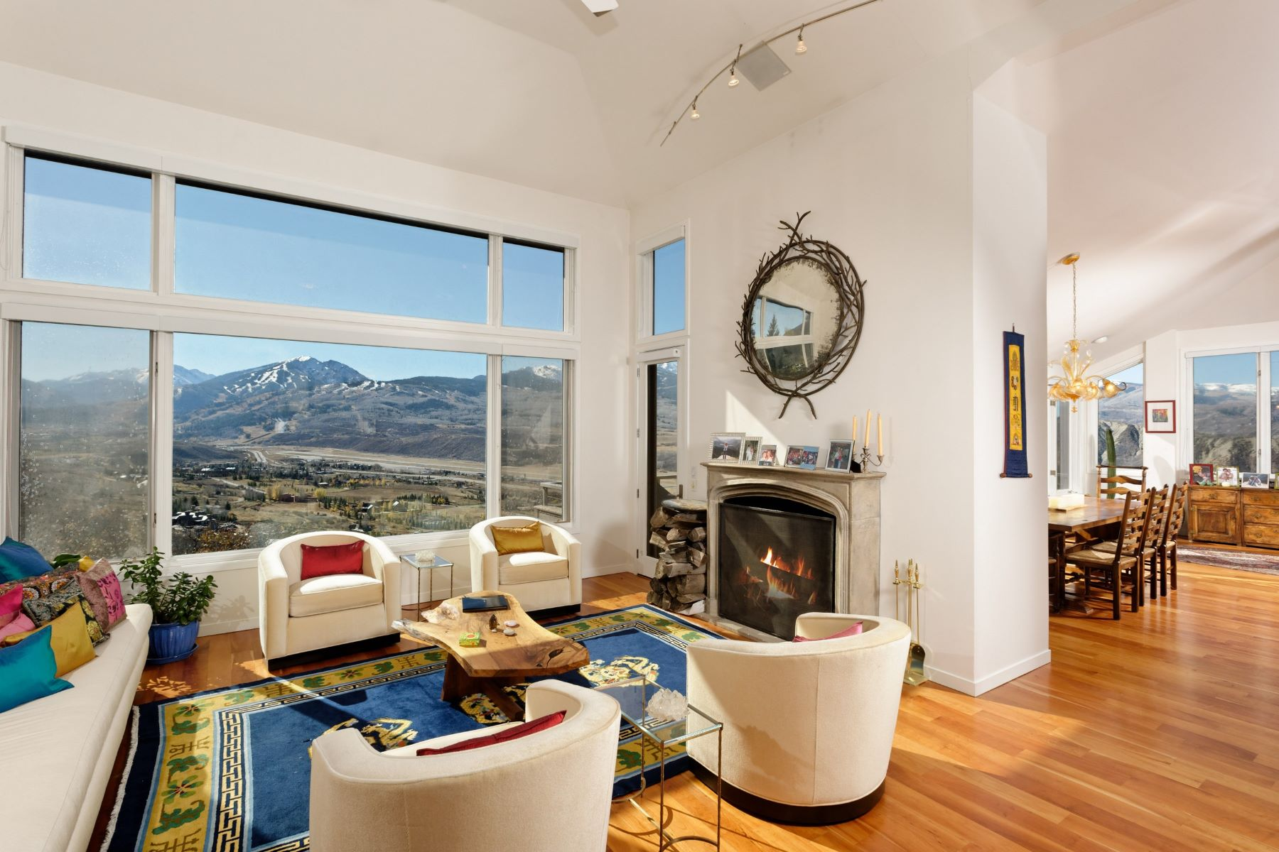 Single Family Home for Sale at Starwood Stunner 284 Stewart Drive McLain Flats, Aspen, Colorado, 81611 United States