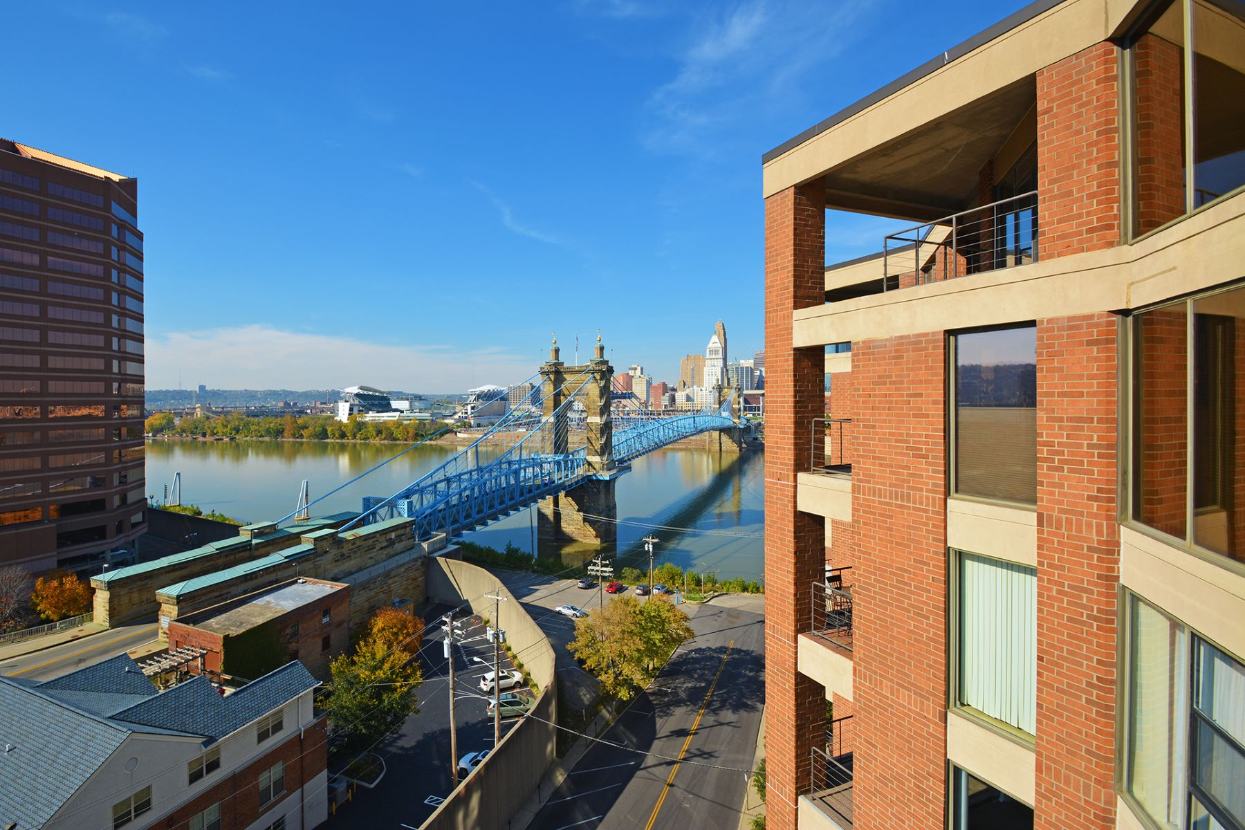 Condominium for Sale at City and River Views 100 Riverside Plaza #1005 Covington, Kentucky 41011 United States