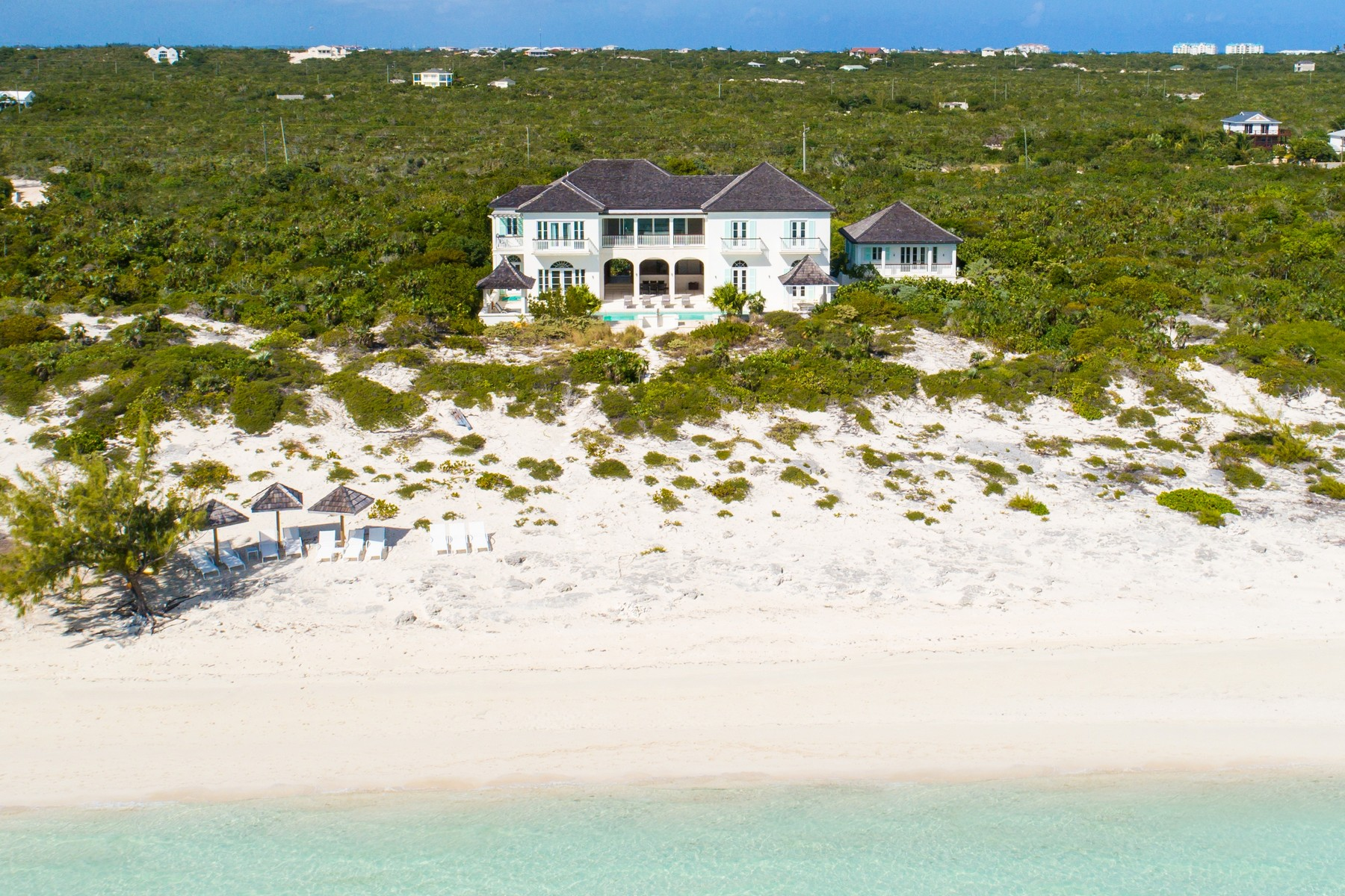 Single Family Home for Sale at Long Bay House Beachfront Long Bay, Providenciales TKCA 1ZZ Turks And Caicos Islands