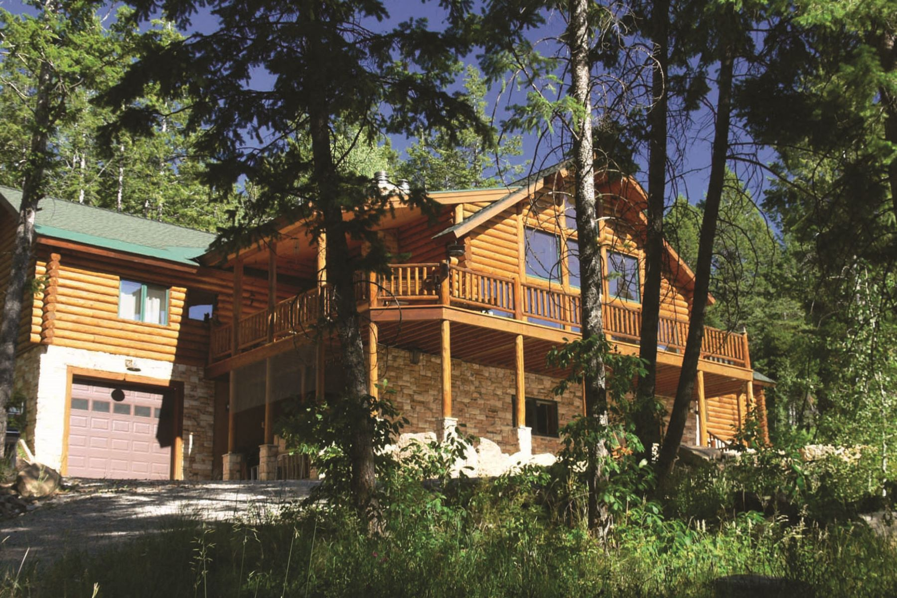 Maison unifamiliale pour l Vente à Private Mountain Retreat in the Trees 3415 Sorensen Creek Victor, Idaho, 83455 Jackson Hole, États-Unis