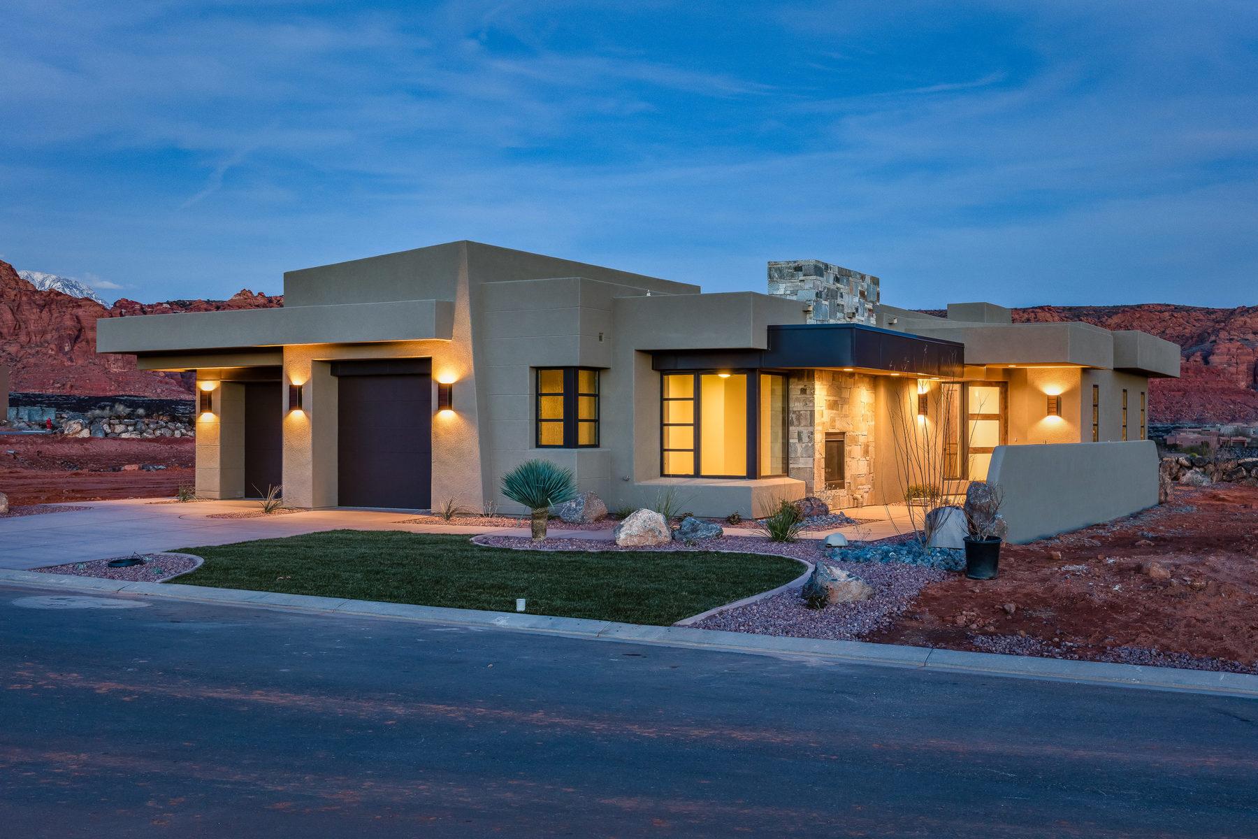 Villa per Vendita alle ore New Encanto Home in Southern Utah 1355 E Snow Canyon Parkway Lot 20 Ivins, Utah, 84738 Stati Uniti