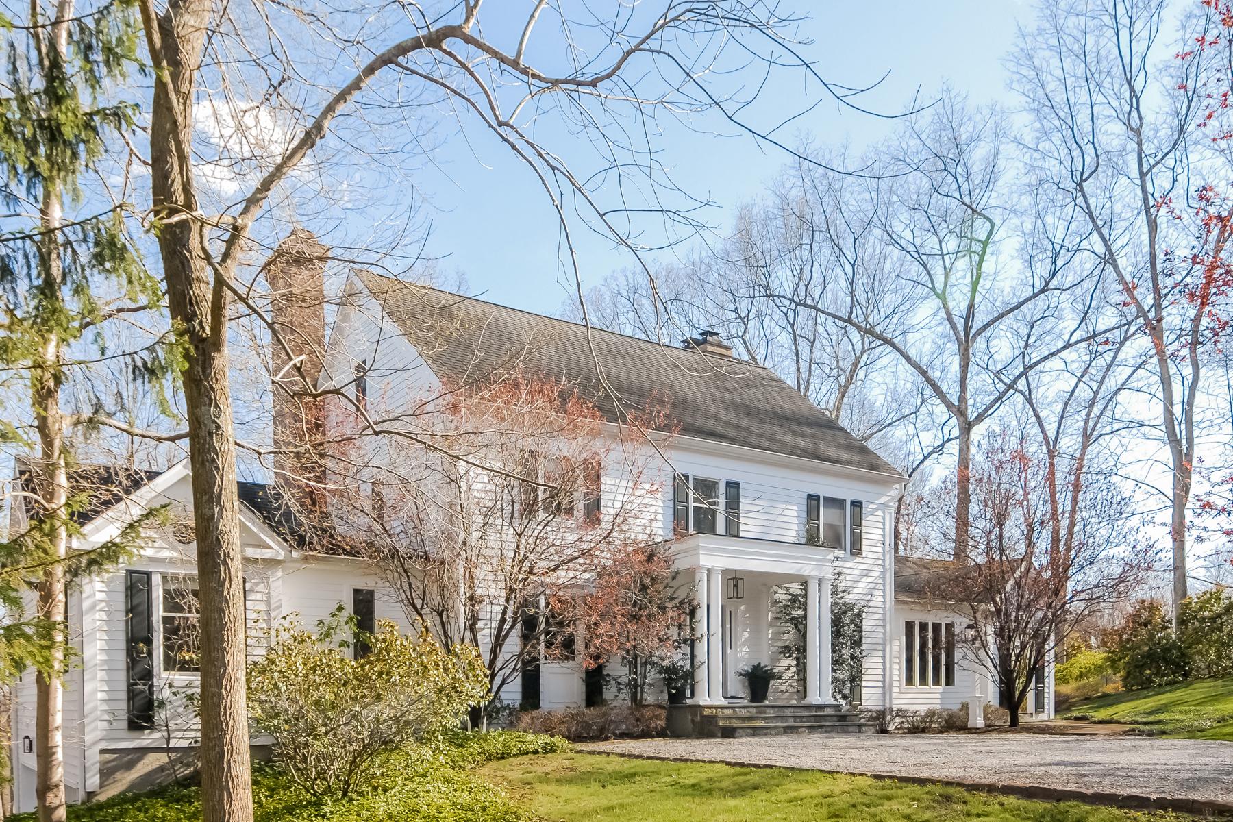 独户住宅 为 销售 在 Peaceful & Private 26 Hilltop Road 坎多纳市, 纽约州 10536 美国