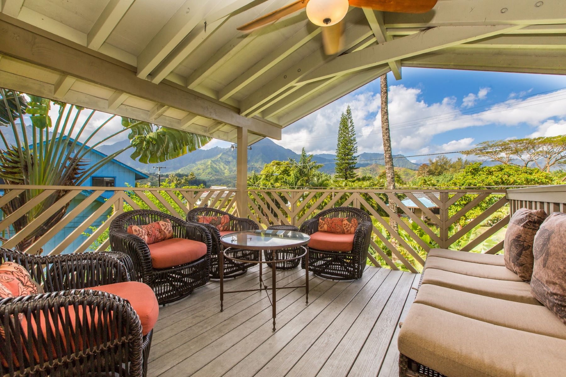 Multi-Family Home for Rent at The Bird's Nest 4457 Aku Road The Bird's Nest Hanalei, Hawaii 96714 United States