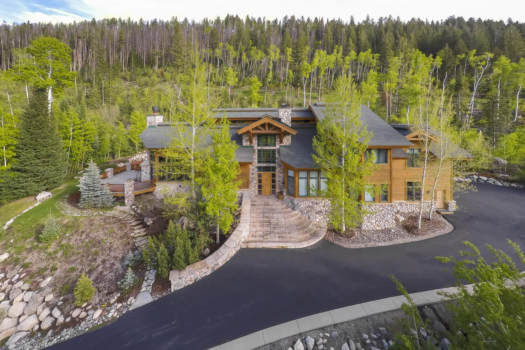 Maison unifamiliale pour l Vente à The Sanctuary 936 Steamboat Blvd. Steamboat Springs, Colorado, 80487 États-Unis