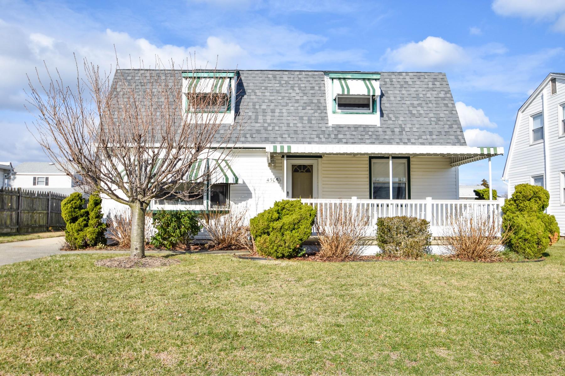 Частный односемейный дом для того Продажа на 4505 W Brigantine Ave Brigantine, Нью-Джерси 08203 Соединенные Штаты