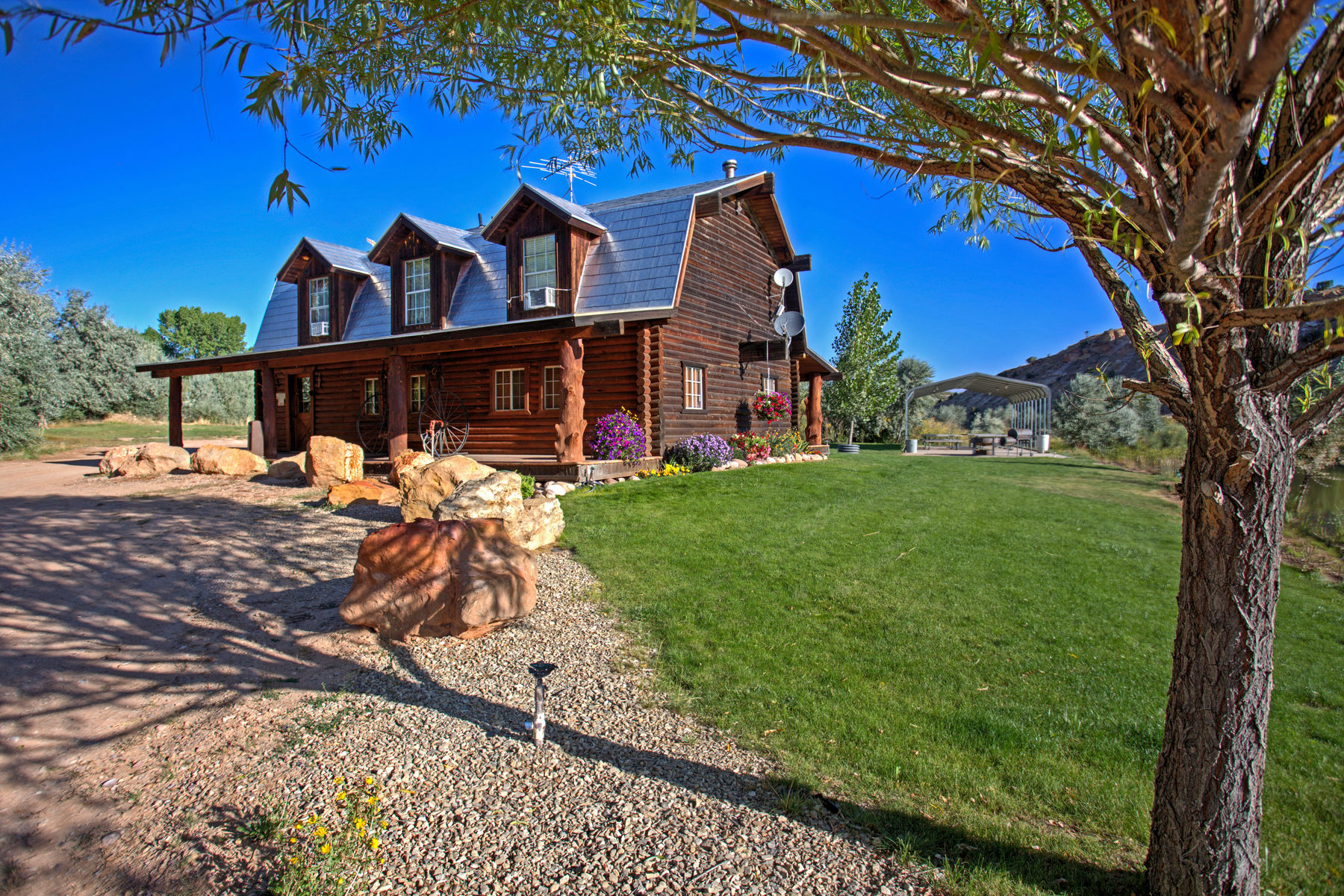 Farm / Ranch / Plantation للـ Sale في LC Ranch, Your Fly Fishing & Outdoor Recreational Enthusiast's Dream 14535 West 4000 North Altamont, Utah 84001 United States