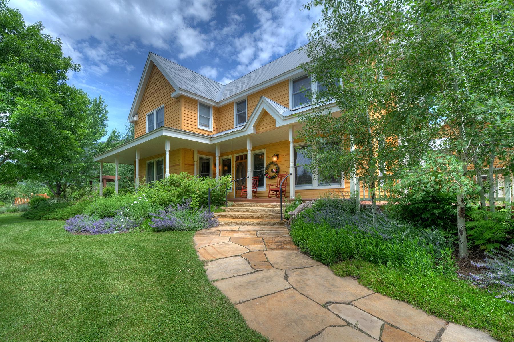 Maison unifamiliale pour l Vente à Wild Wings Ranch 615 S Coon Creek Durango, Colorado, 81301 États-Unis
