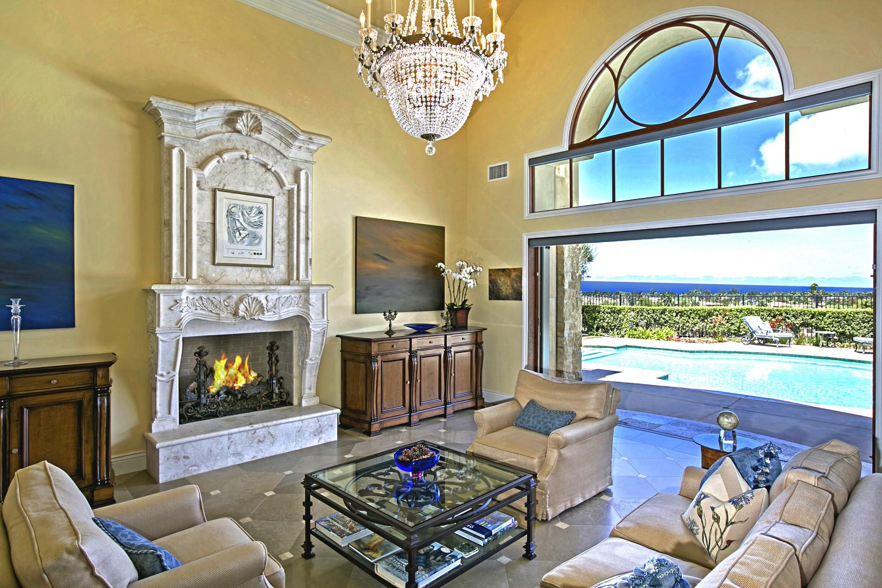 Maison unifamiliale pour l Vente à 13990 Rancho Solana Trail San Diego, Californie, 92130 États-Unis