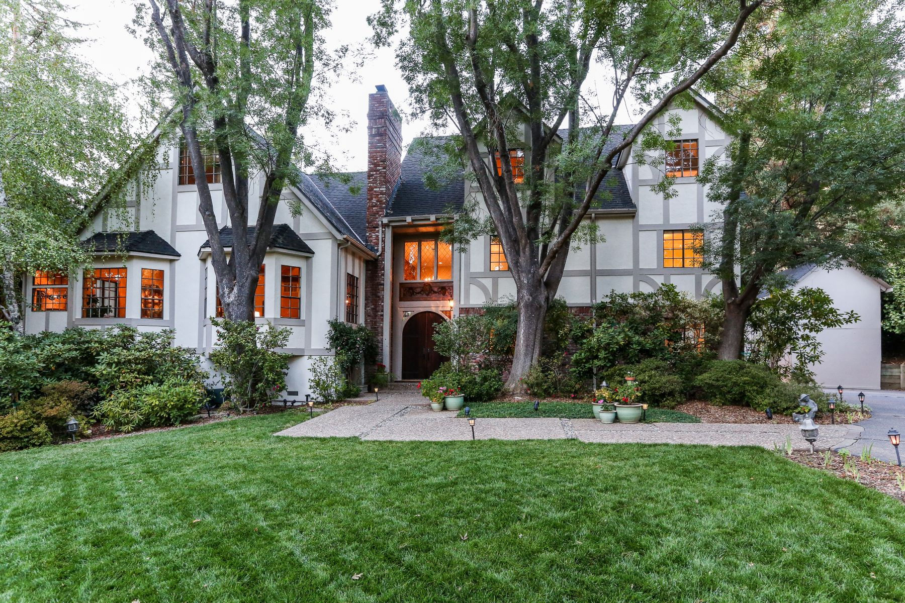Single Family Home for Sale at Exquisite Gated Tudor Hampton Estate 2510 Mt Diablo Scenic Blvd Danville, California 94506 United States