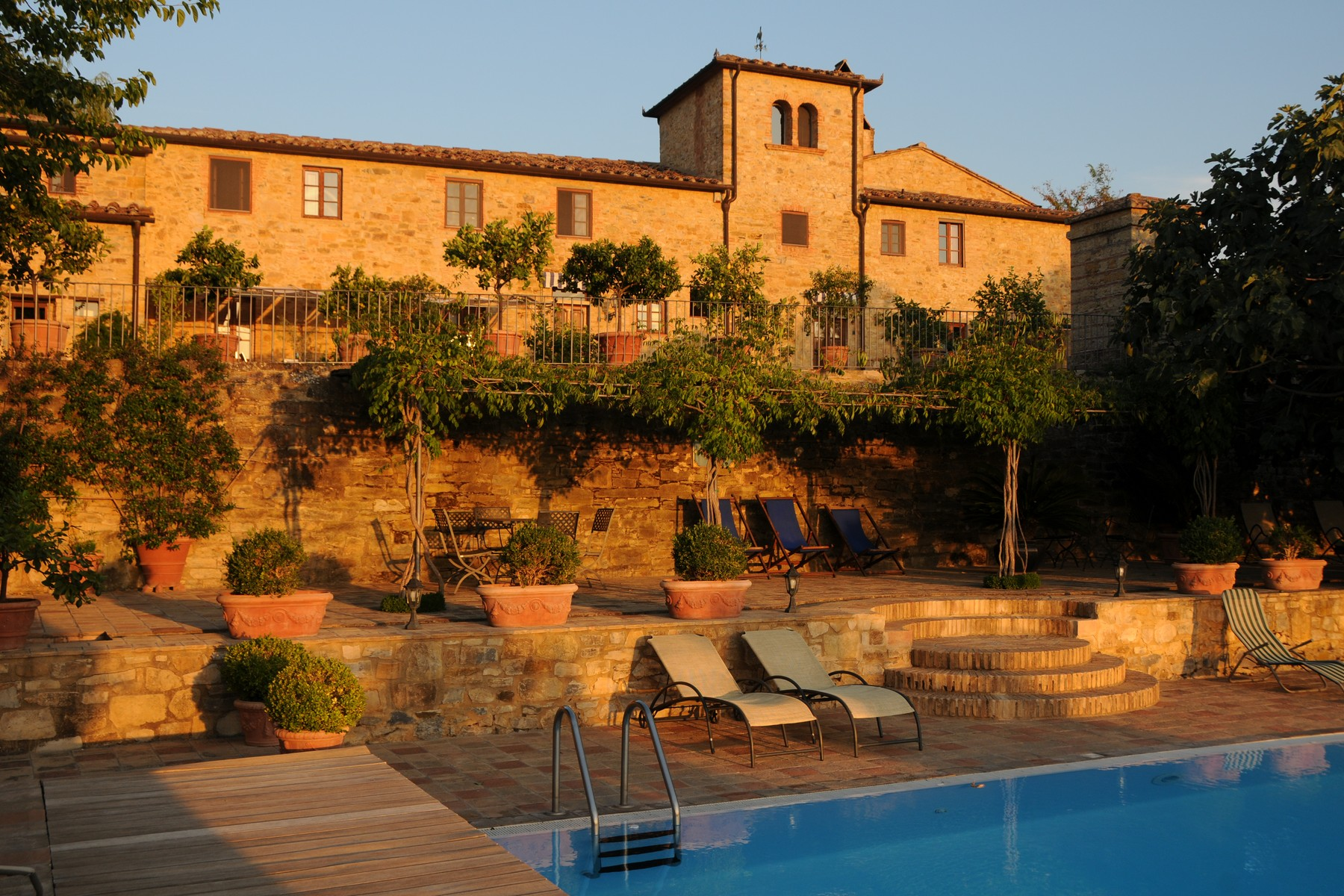 Single Family Home for Sale at Lovely villa with vineyards in the Chianti Classico Strada Cerbaia Firenze, 50028 Italy