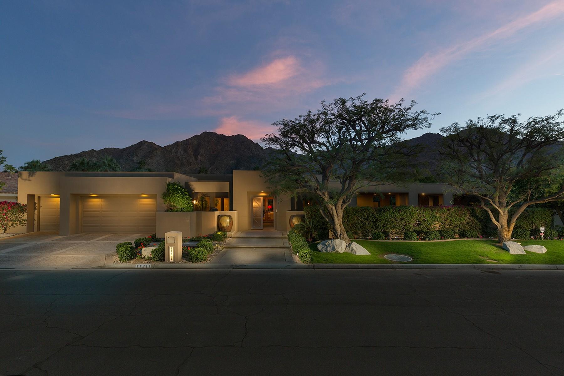 Maison unifamiliale pour l Vente à 77317 Chocolate Mountain Road Indian Wells, Californie 92210 États-Unis