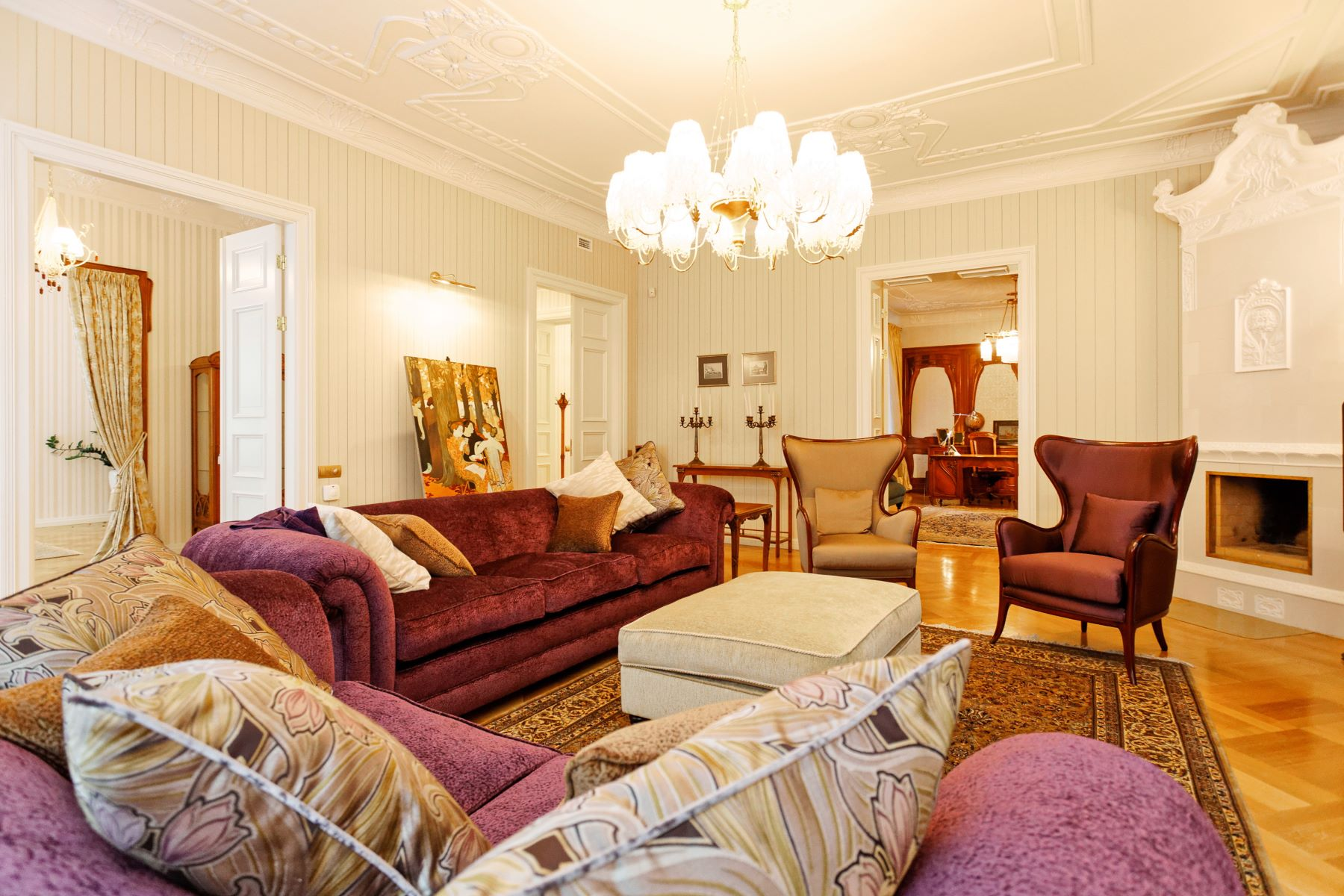 sales property at Splendid apartment in the Art Nouveau pearl