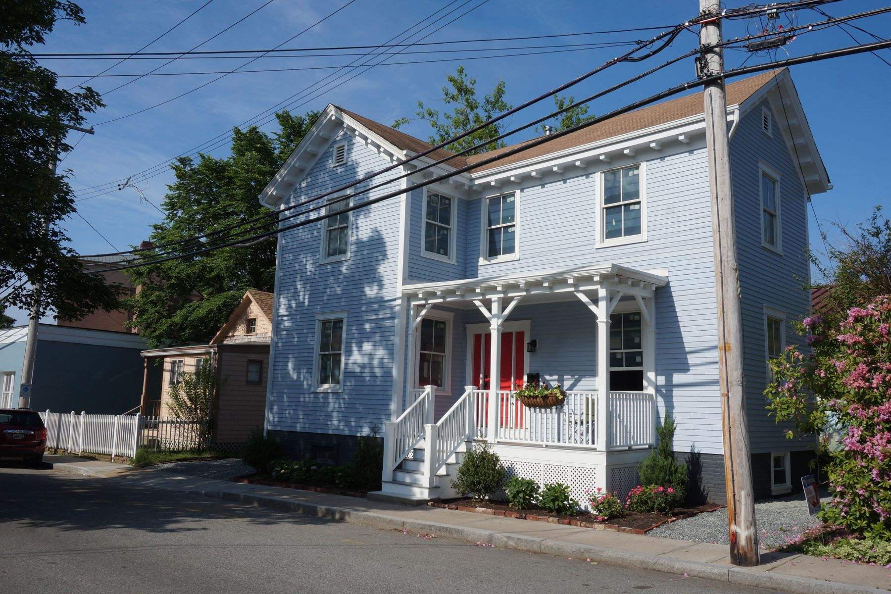 Single Family Home for Sale at The John E. Dowling House 13 Chapel Street Newport, Rhode Island 02840 United States