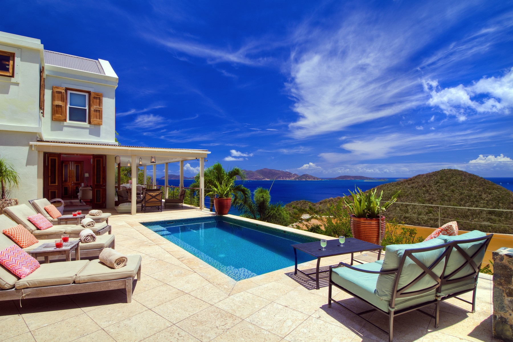 واحد منزل الأسرة للـ Sale في Cohoba House Belmont, Tortola British Virgin Islands