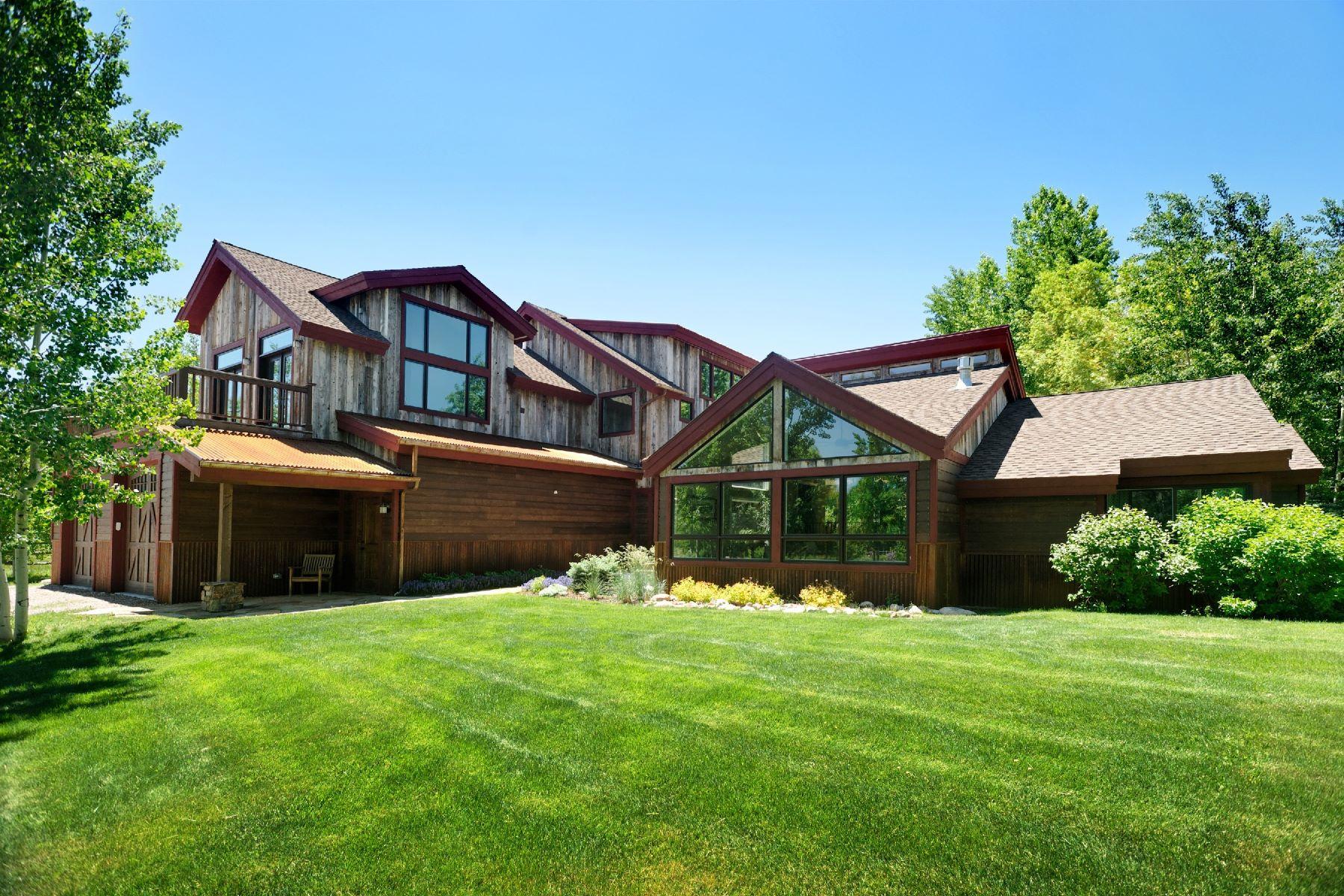 Nhà ở một gia đình vì Bán tại Idylllic Old Snowmass 51 Driskell Lane, Snowmass, Colorado, 81654 Hoa Kỳ