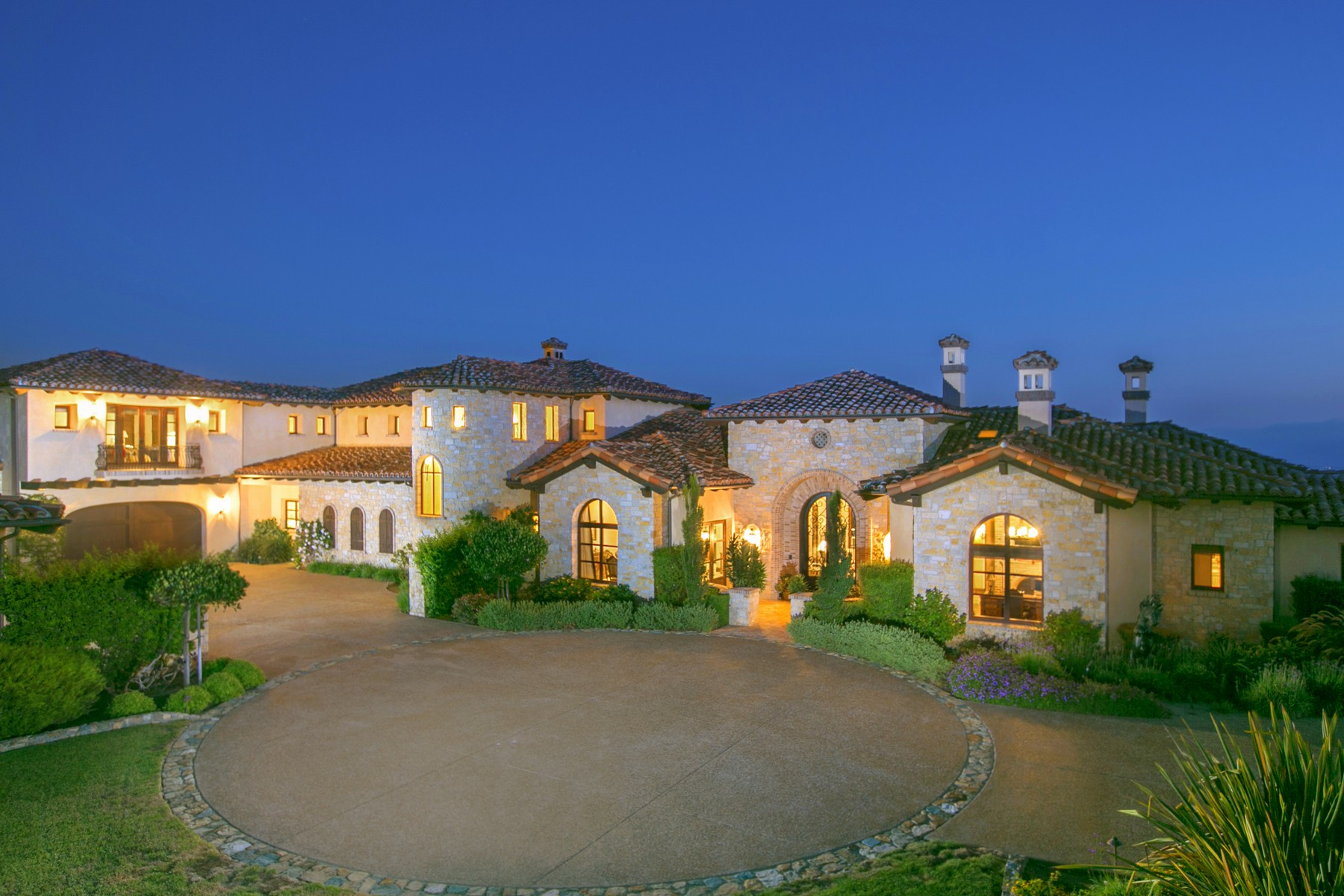 Maison unifamiliale pour l Vente à 7667 Camino de Arriba Rancho Santa Fe, Californie 92067 États-Unis