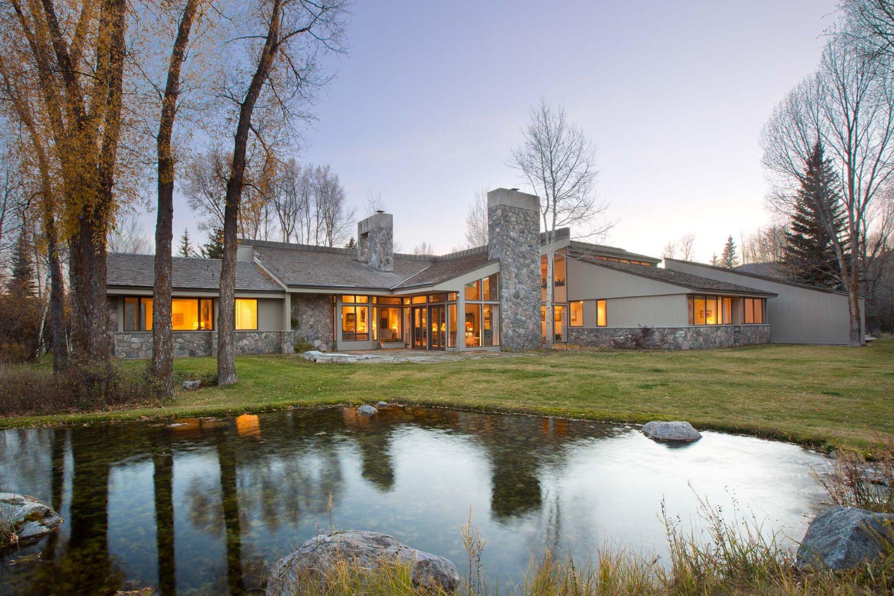 Nhà ở một gia đình vì Bán tại Breathtaking Natural Setting Jackson, Wyoming, 83014 Jackson Hole, Hoa Kỳ