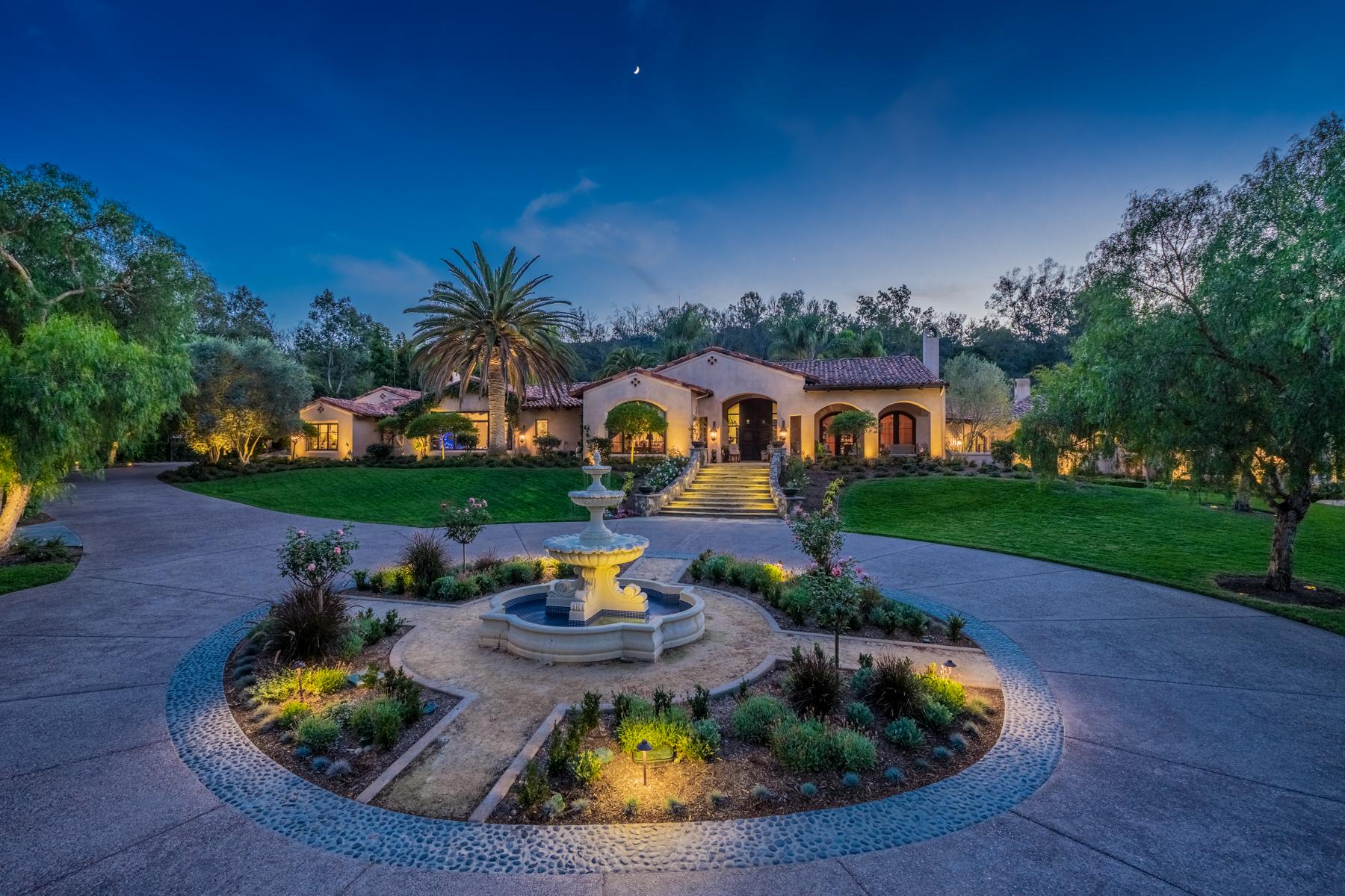Moradia para Venda às 16250 Rambla De Las Flores Rancho Santa Fe, Califórnia, 92067 Estados Unidos