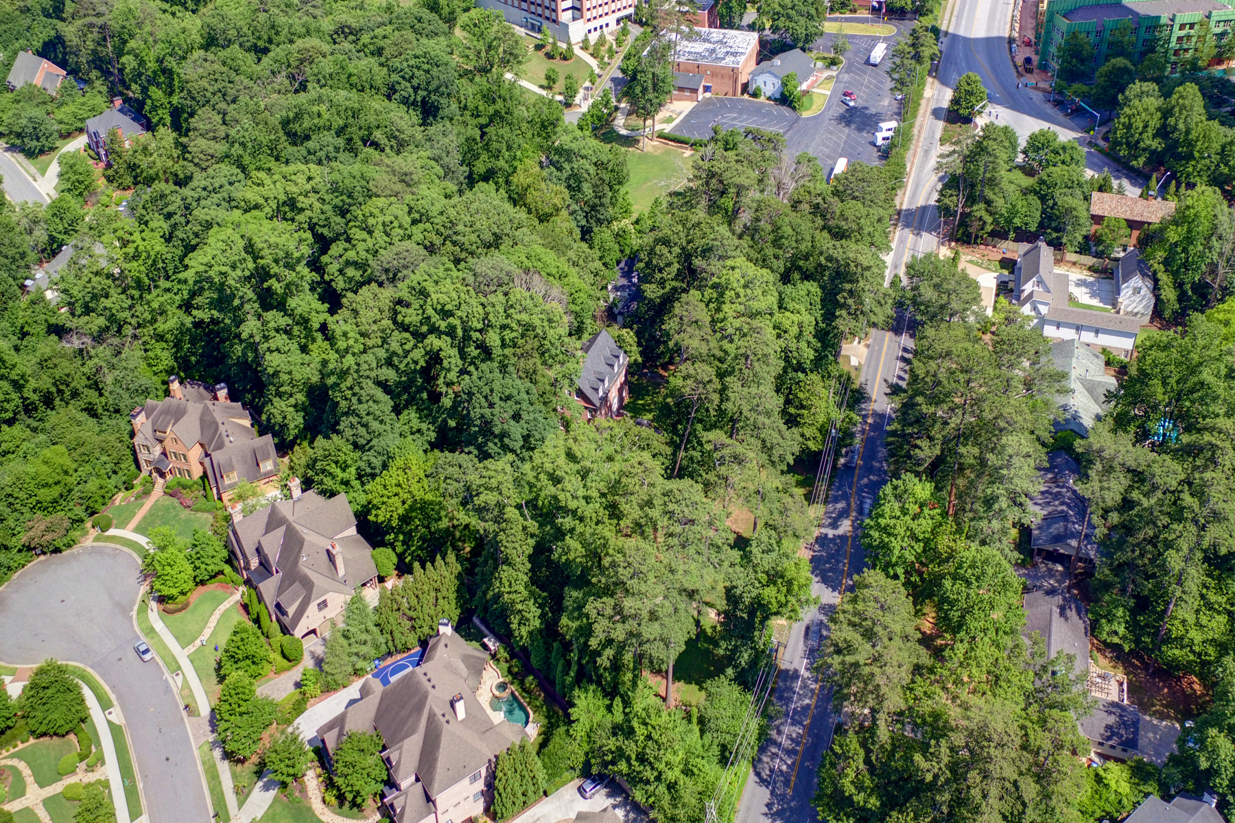토지 용 매매 에 3.3 Acre Buckhead Estate 3745 Wieuca Road Buckhead, Atlanta, 조지아, 30342 미국