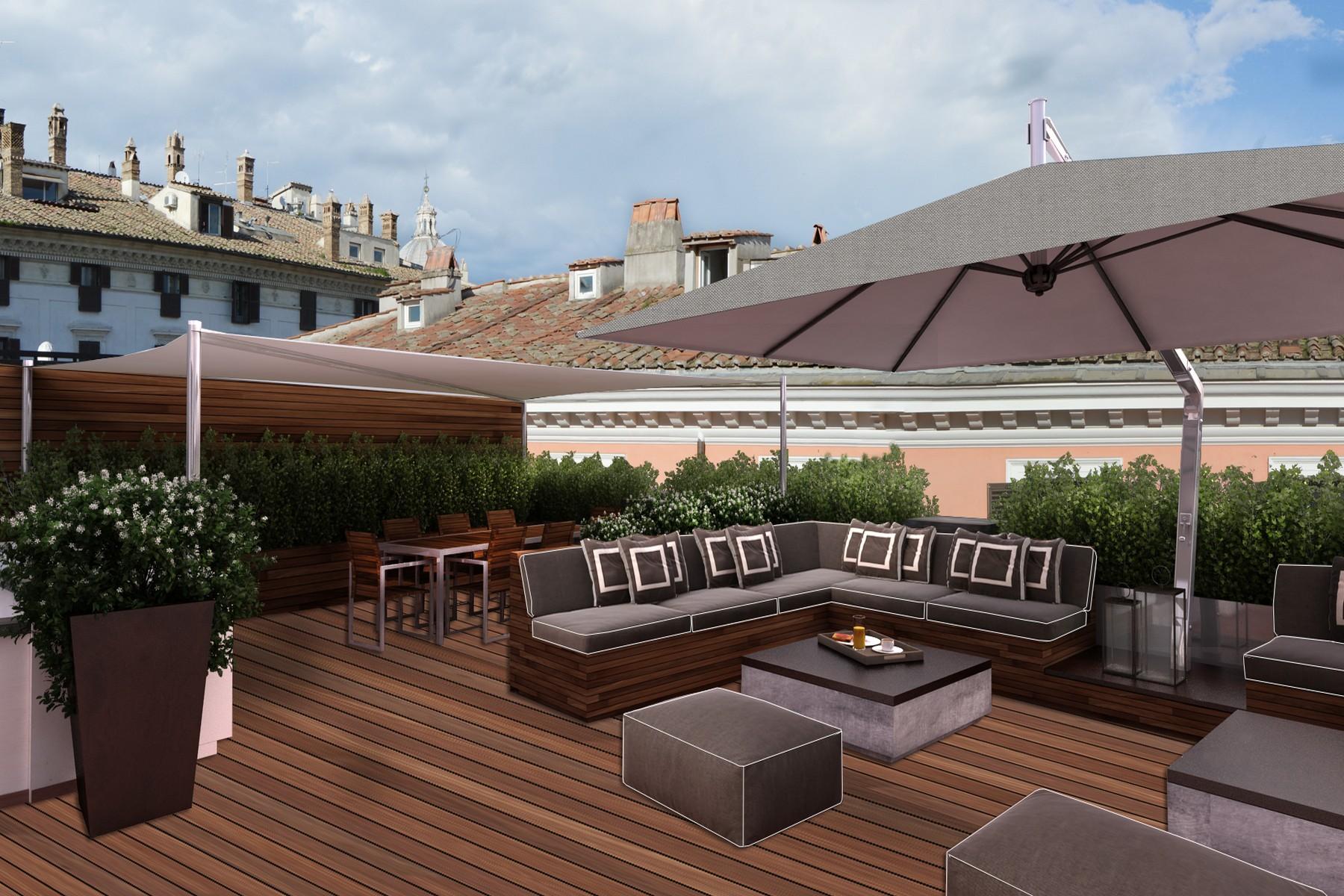 Additional photo for property listing at Precioso ático en Piazza Borghese  Rome, Roma 00186 Italia