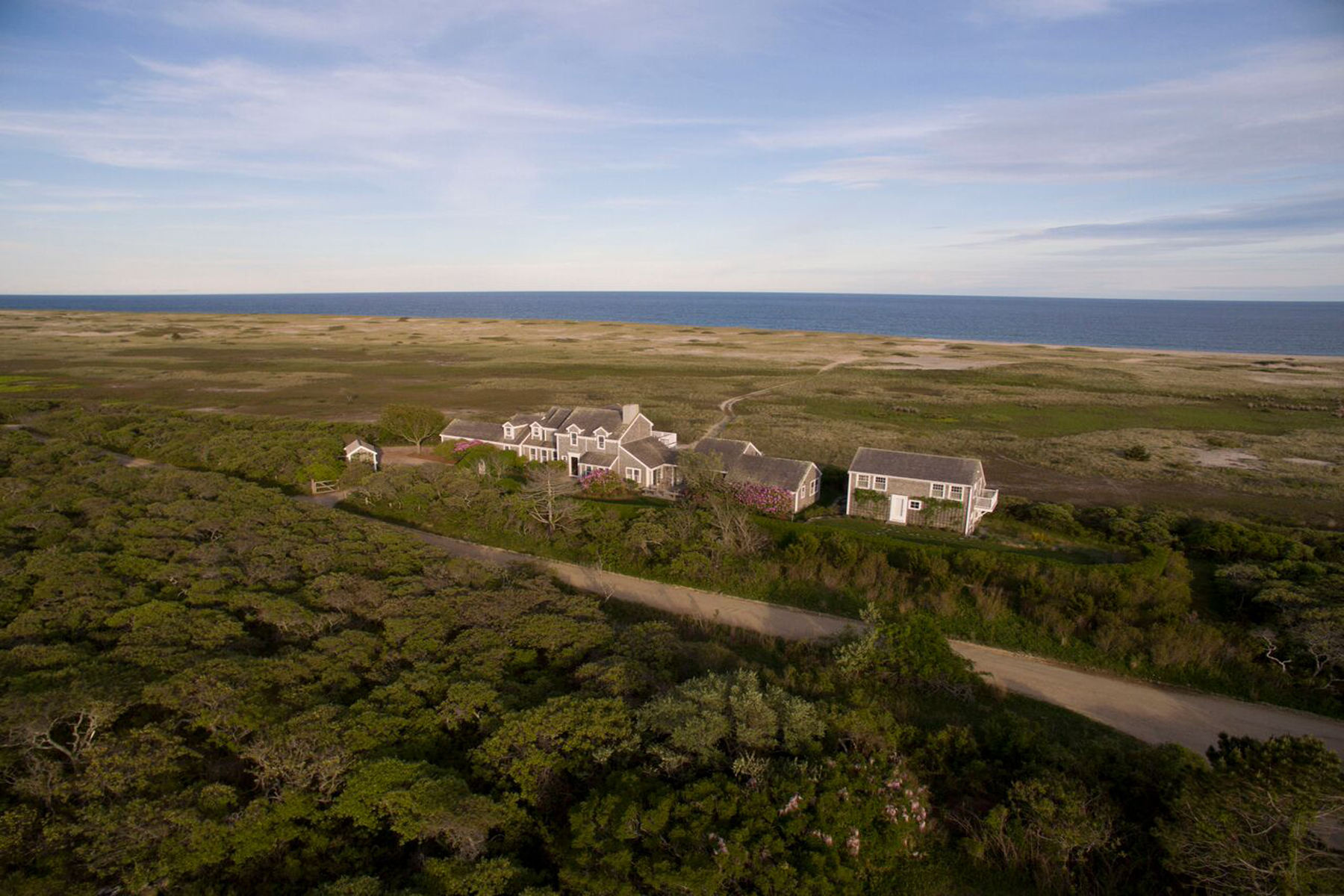 "Single Family Home for Sale at ""Vanishing Point"" 100 Low Beach Road Siasconset, Massachusetts, 02564 United States"
