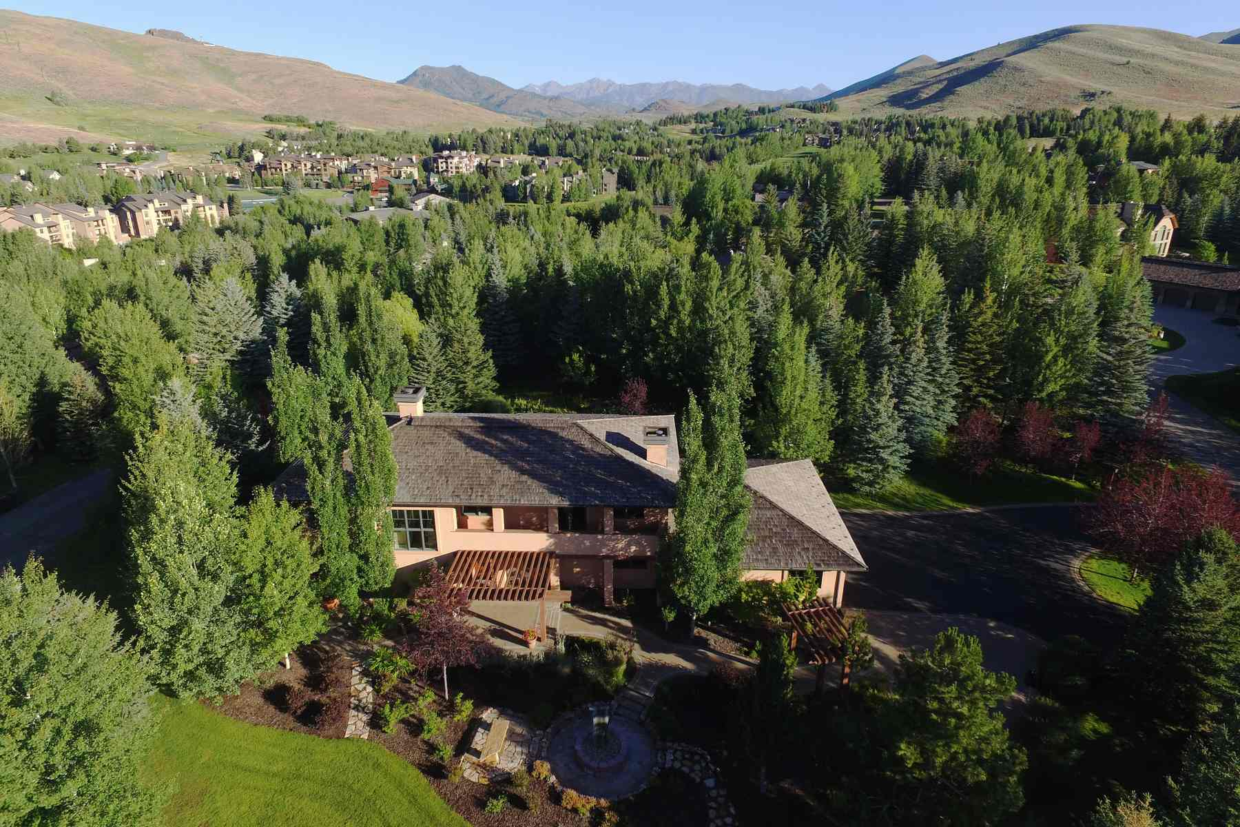 Vivienda unifamiliar por un Venta en Tuscany in Sun Valley 115 Highlands Dr Elkhorn, Sun Valley, Idaho, 83353 Estados Unidos