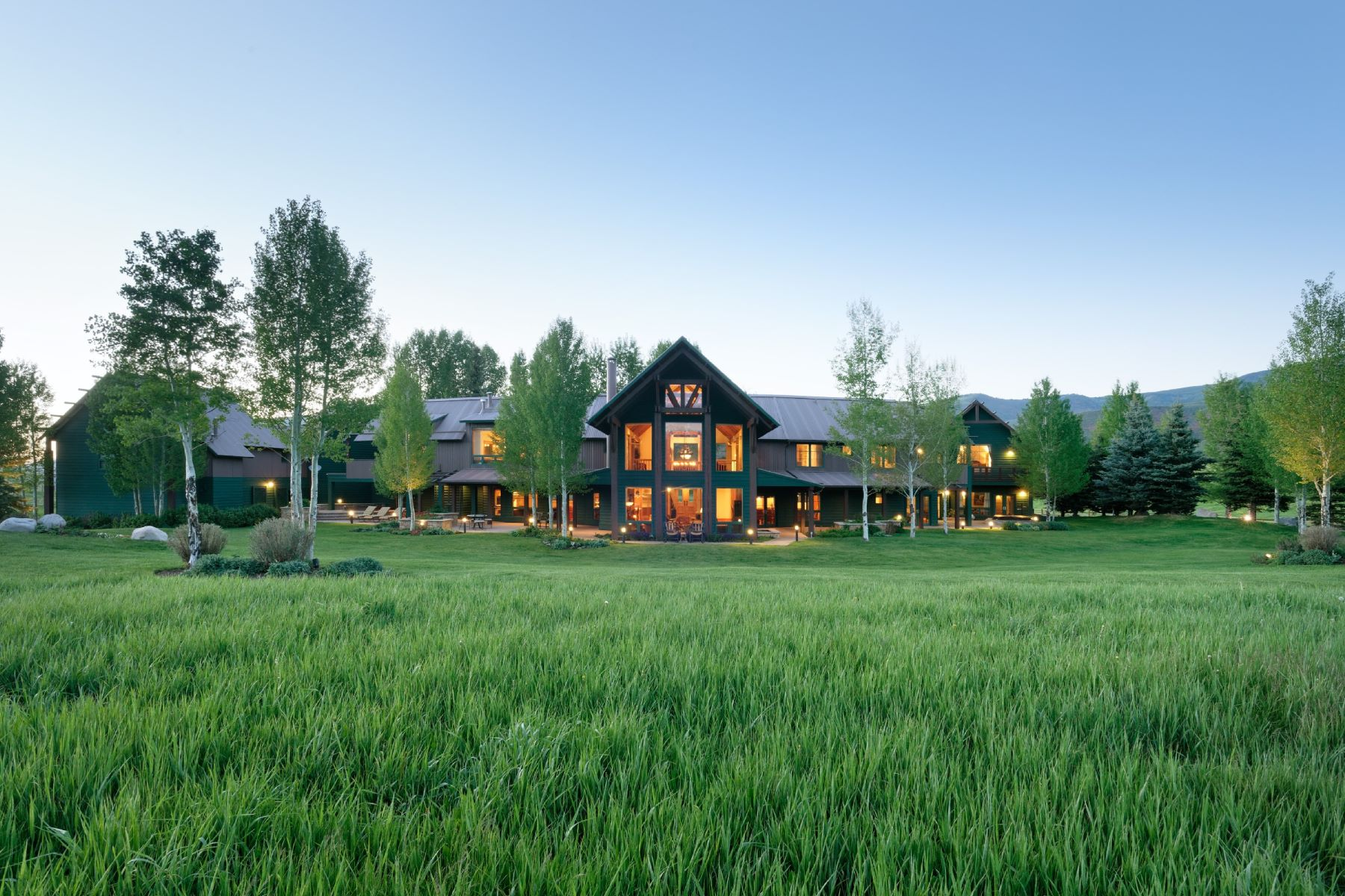 Single Family Home for Active at The Pastoral Life 910 White Star Drive Aspen, Colorado 81611 United States