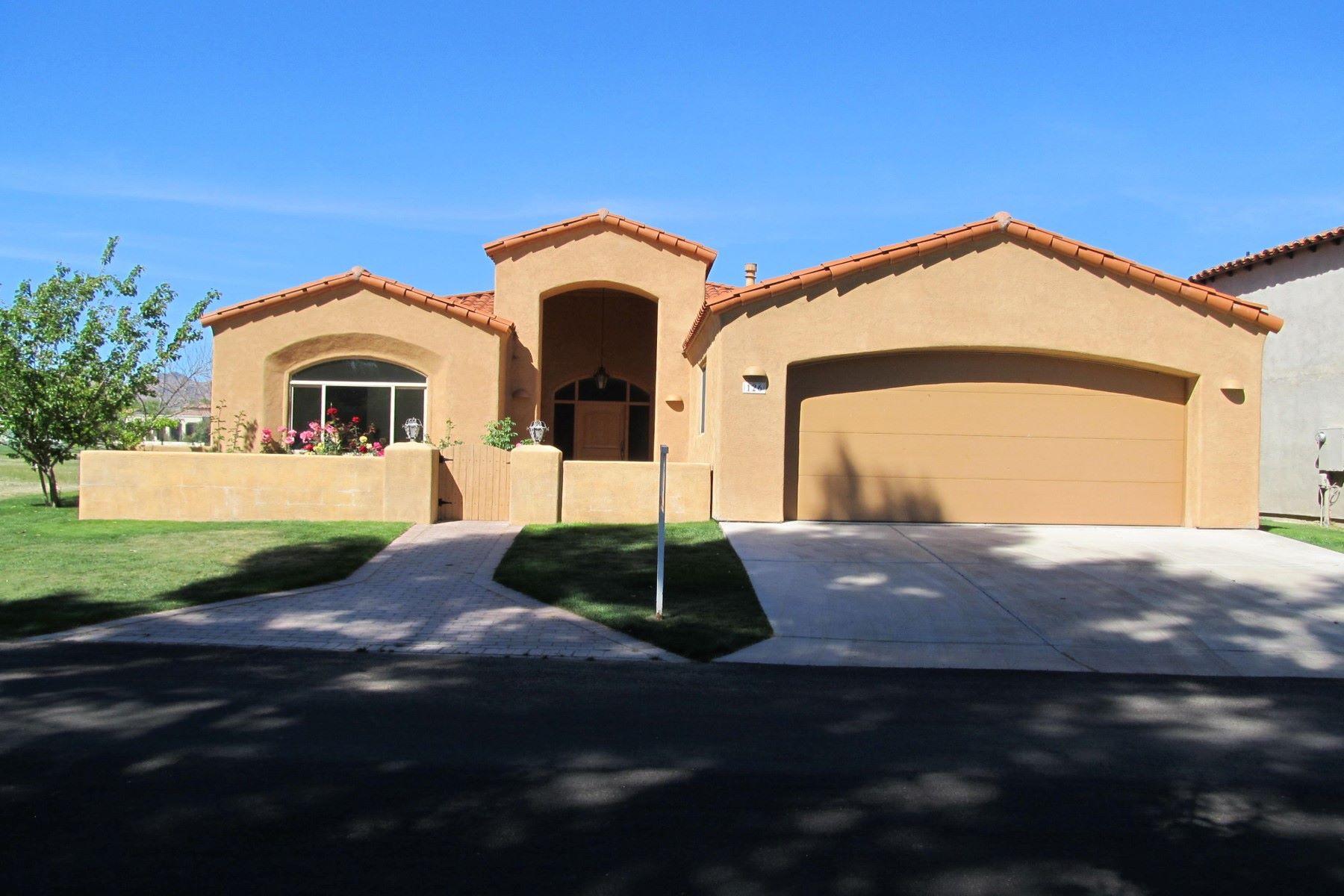 Single Family Home for Sale at Beautiful custom home in the renowned Tubac Golf Resort 126 Avenida De Otero Tubac, Arizona, 85646 United States