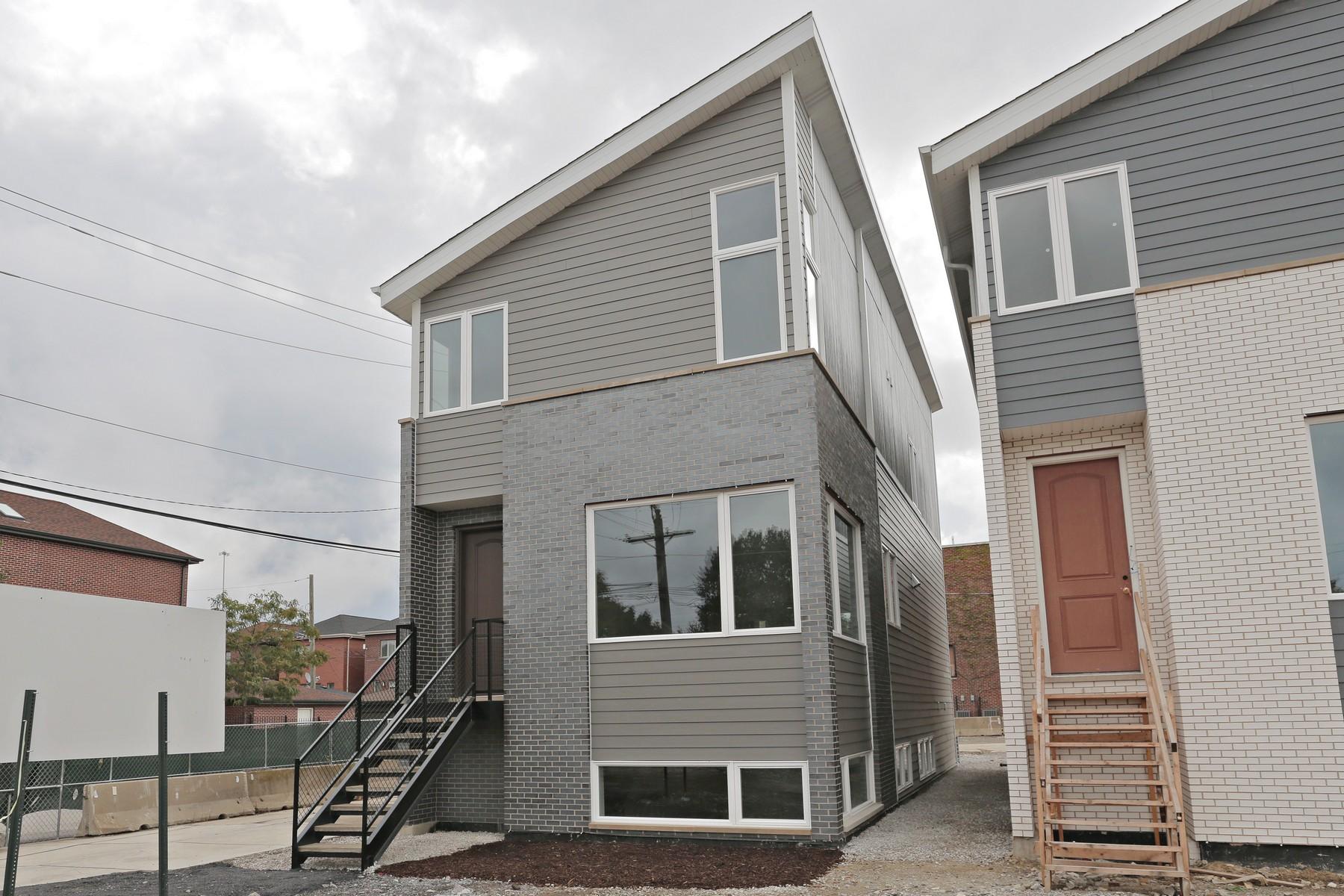 獨棟家庭住宅 為 出售 在 Modern Bridgeport Home 2923 S Hillock Avenue Bridgeport, Chicago, 伊利諾斯州, 60608 美國