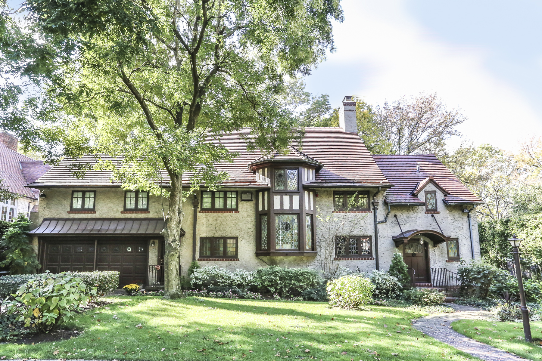 "Single Family Home for Sale at ""A HOME FOR ALL SEASONS"" 229 Greenway South, Forest Hills Gardens, Forest Hills, New York 11375 United States"