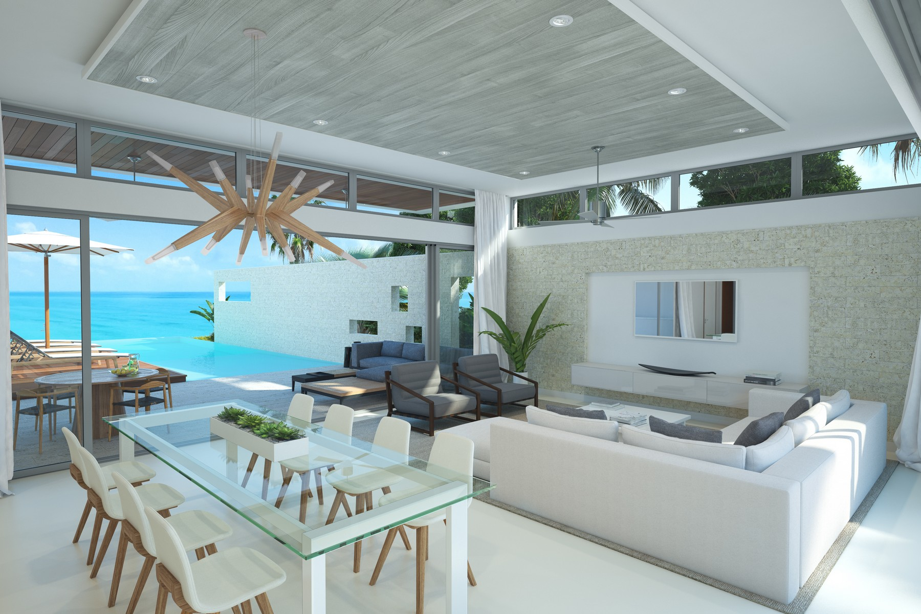 Additional photo for property listing at Gansevoort Villa - 4 Bedroom Design Waterfront Turtle Tail, Providenciales TCI Turks And Caicos Islands