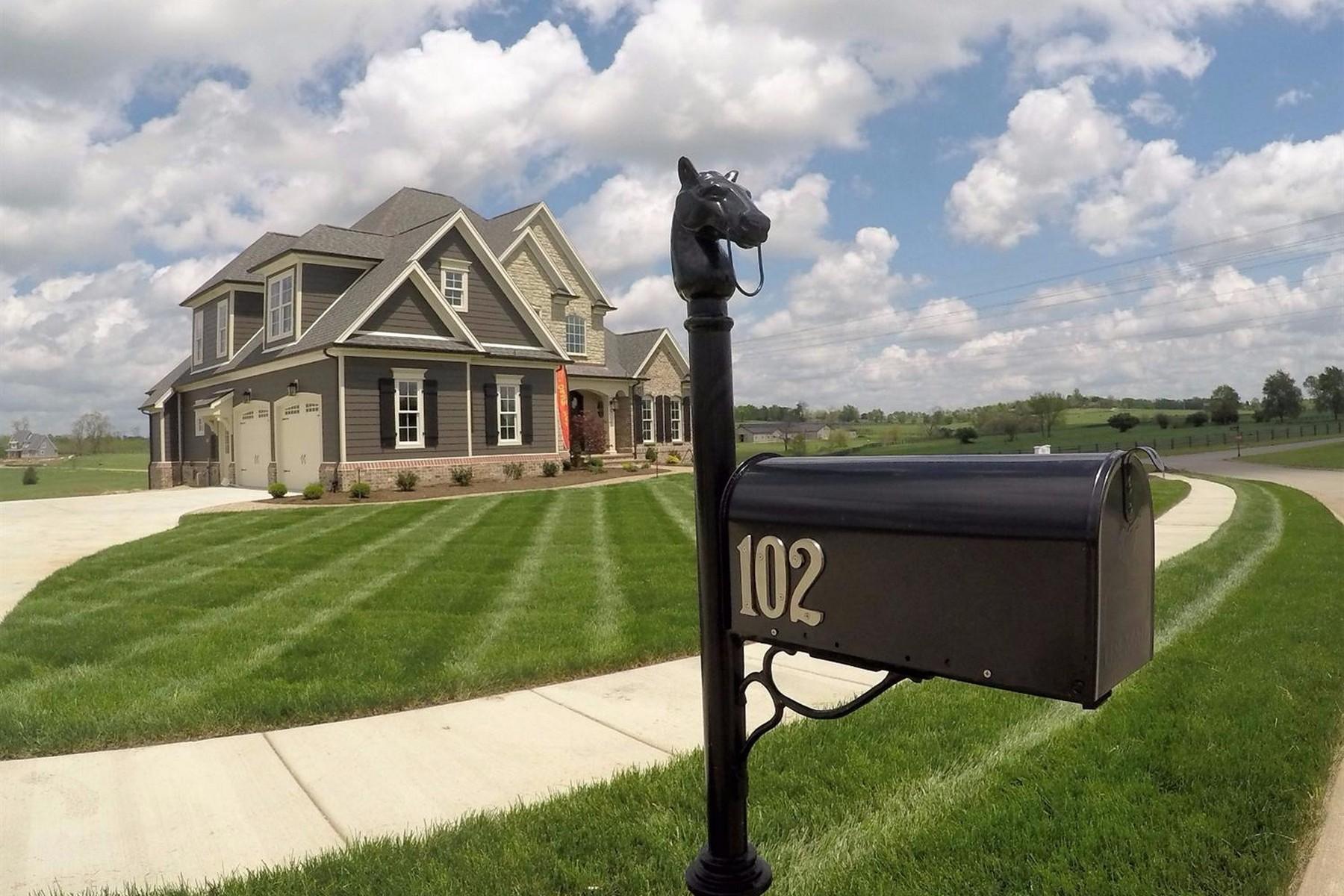 Maison unifamiliale pour l Vente à 102 Mahin Trail Nicholasville, Kentucky, 40356 États-Unis
