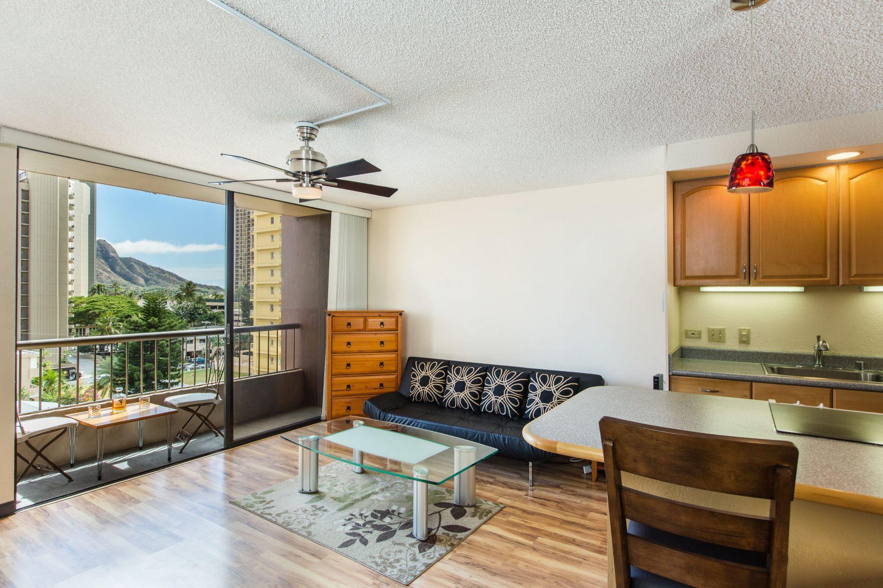 Condominium for Sale at Spectacular Views 320 Liliuokalani Ave #701 Waikiki, Honolulu, Hawaii, 96815 United States