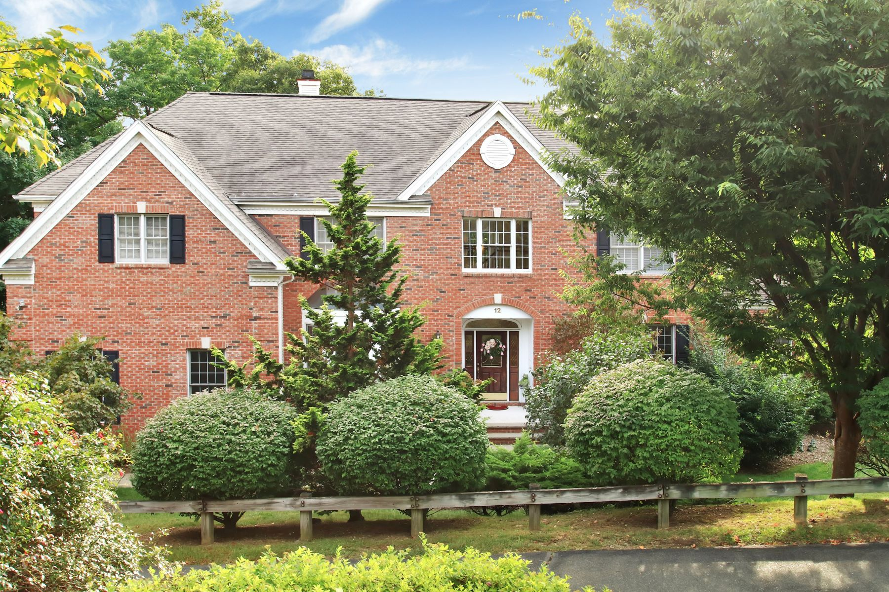 Single Family Home for Sale at Vizcaya Estates Colonial 12 Vizcaya Court Wayne, New Jersey 07470 United States