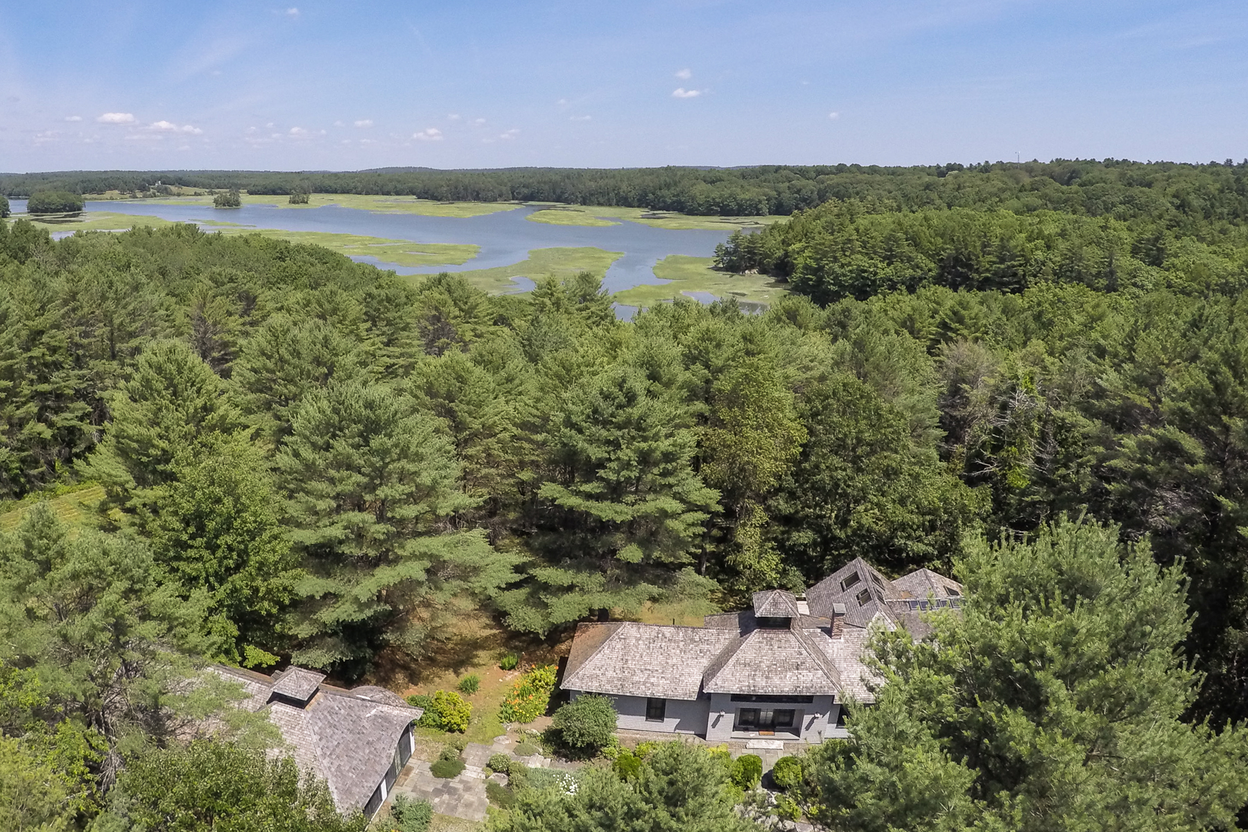 Single Family Home for Sale at Salt Marsh Cottage, Woolwich Woolwich, Maine 04579 United States