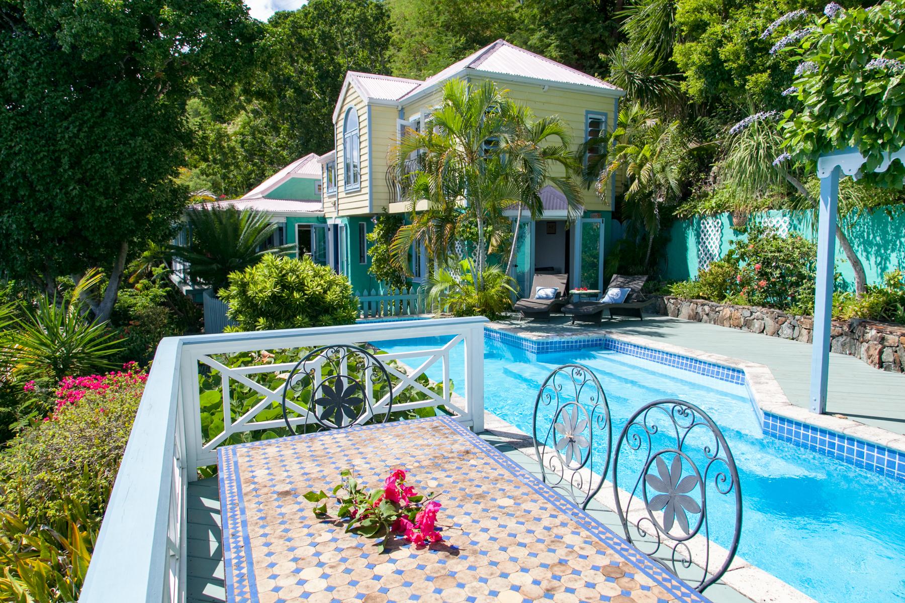 Enfamiljshus för Försäljning vid Brook House Havers, Tortola Brittiska Jungfruöarna