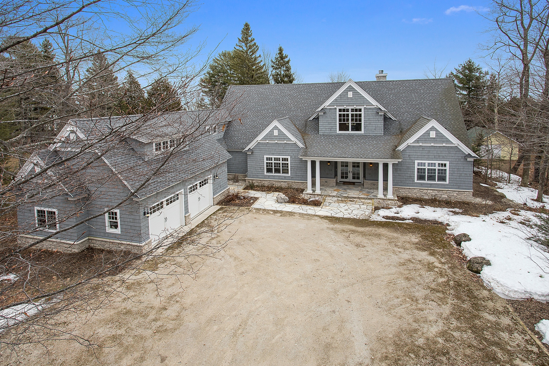 Single Family Home for Sale at Cape Cod Shore Home 3230 Lake Forest Park Road Sturgeon Bay, Wisconsin 54235 United States