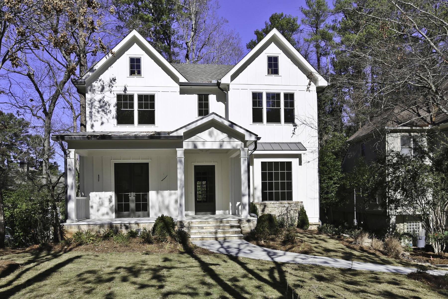 Eensgezinswoning voor Verkoop een t New Construction by JackBilt Homes. 870 Wildwood Road NE Atlanta, Georgië 30324 Verenigde Staten