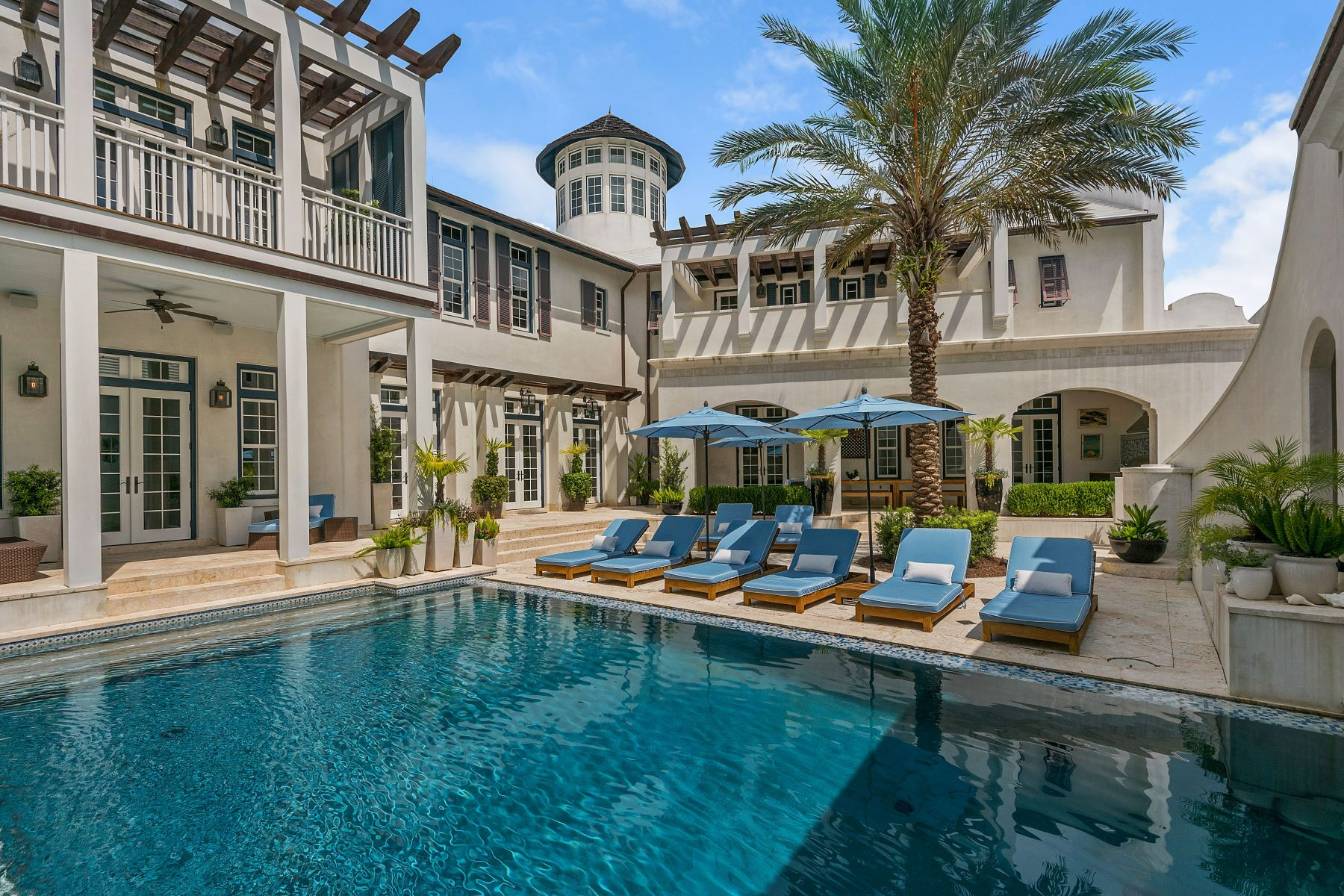 Single Family Home for Sale at ASPRI VILLA AT THE EXCLUSIVE ALYS BEACH 140 N Charles Street Alys Beach, Florida, 32461 United States