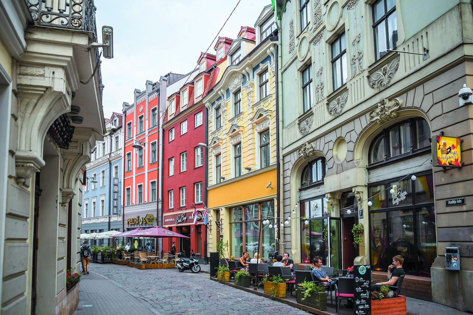 pour l à vendre à Splendid building with a great history in the Old Town Riga, Autres Régions De Lettonie, Lettonie