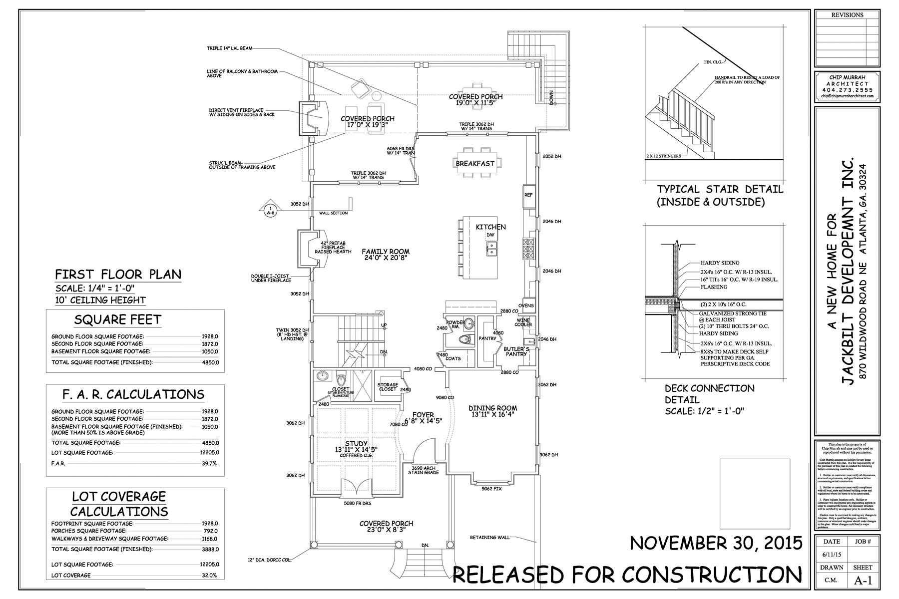 Additional photo for property listing at New Construction by JackBilt Homes. 870 Wildwood Road NE Atlanta, Georgië 30324 Verenigde Staten