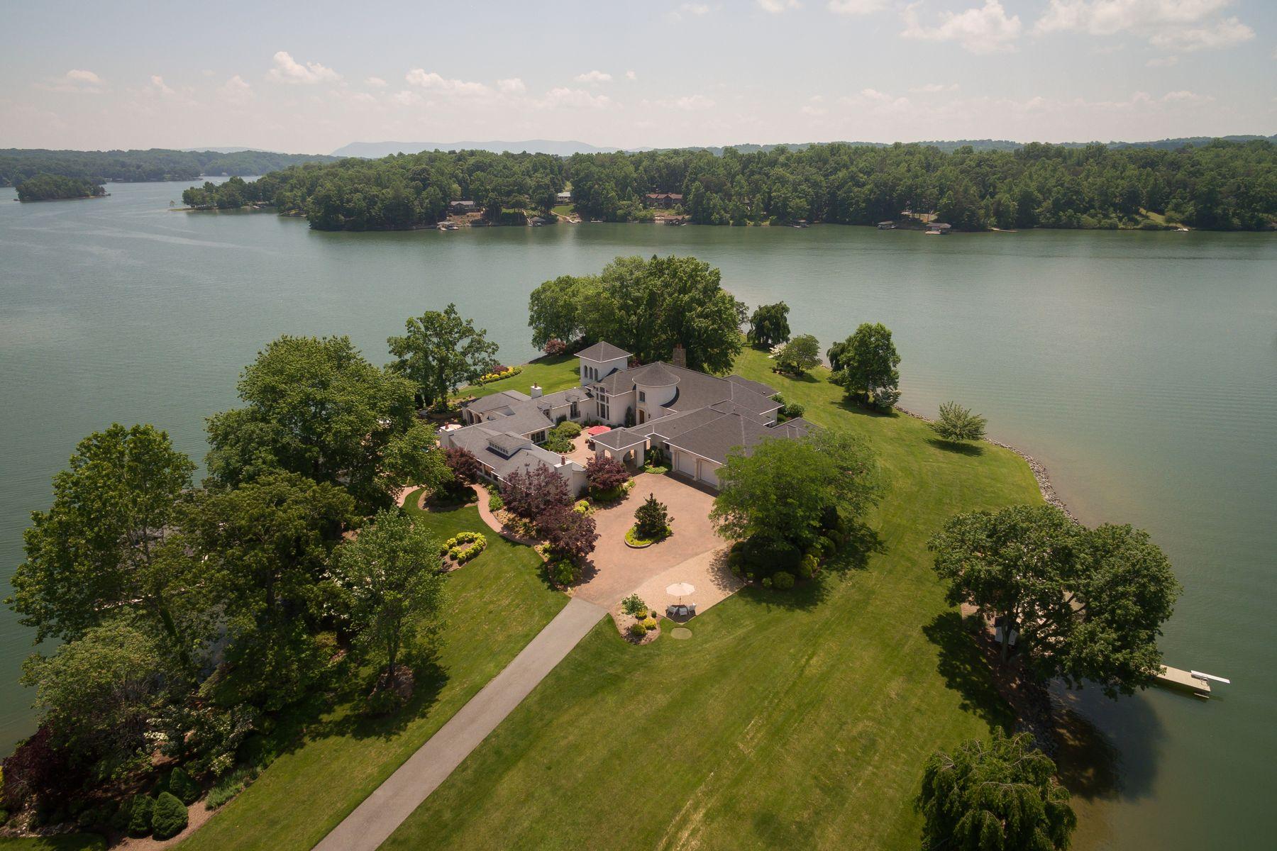 Single Family Home for Sale at Smith Mountain Lake Estate 1994 Merriman Way Dr Moneta, Virginia 24121 United States