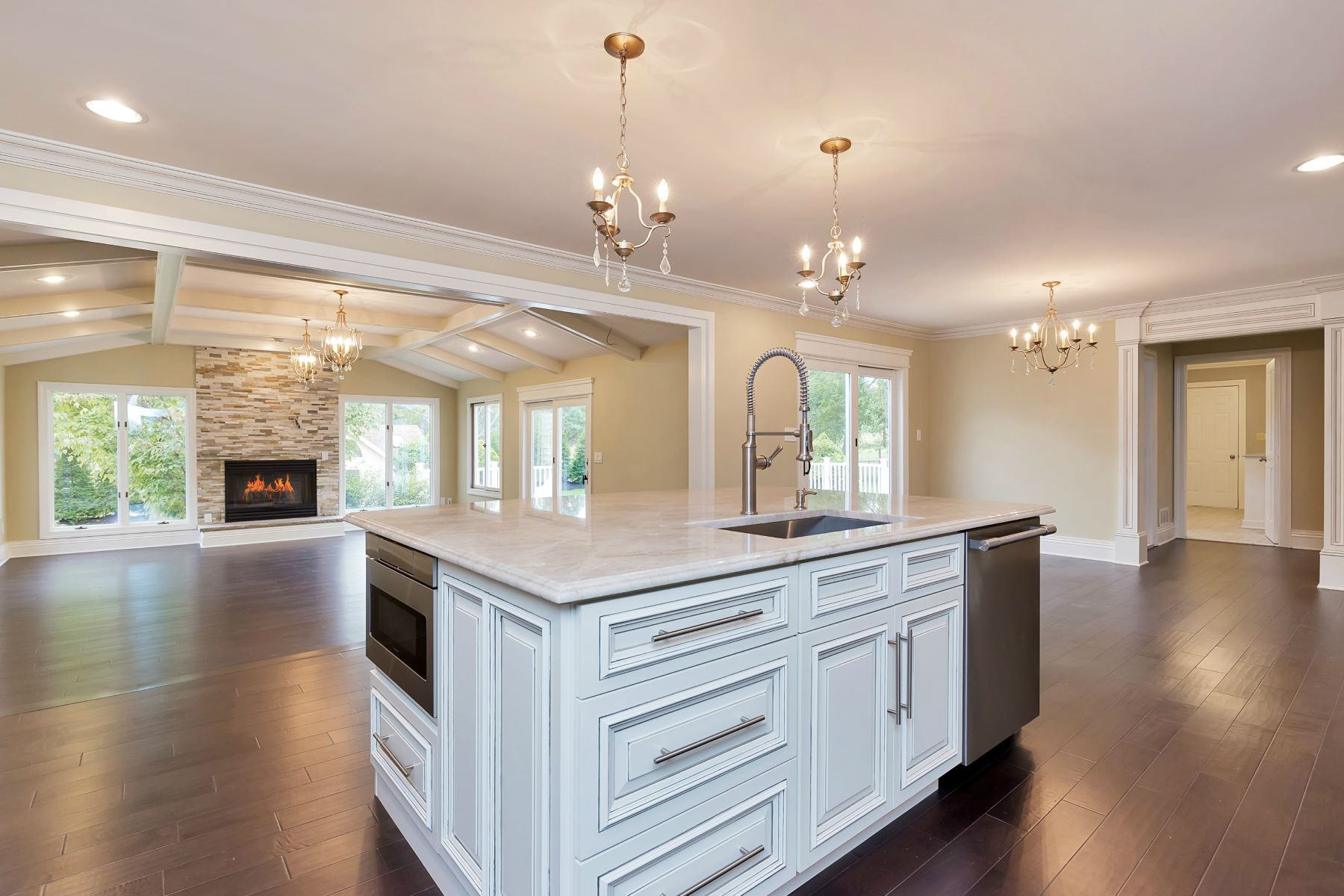 Single Family Home for Sale at Elegant Custom Colonial 12 Meadowview Drive Colts Neck, New Jersey 07722 United States