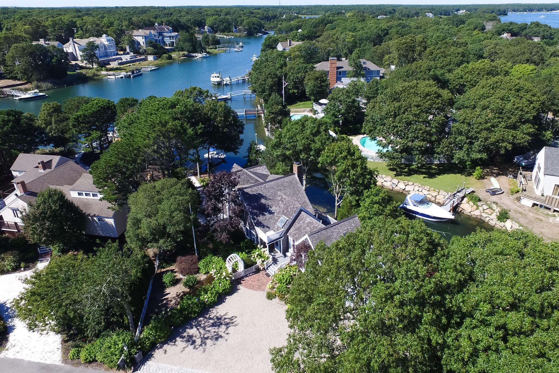 獨棟家庭住宅 為 出售 在 POPPONESSET ISLAND LUXURY RETREAT 11 Taffrail Way New Seabury, 麻塞諸塞州, 02649 美國在/周邊: Mashpee