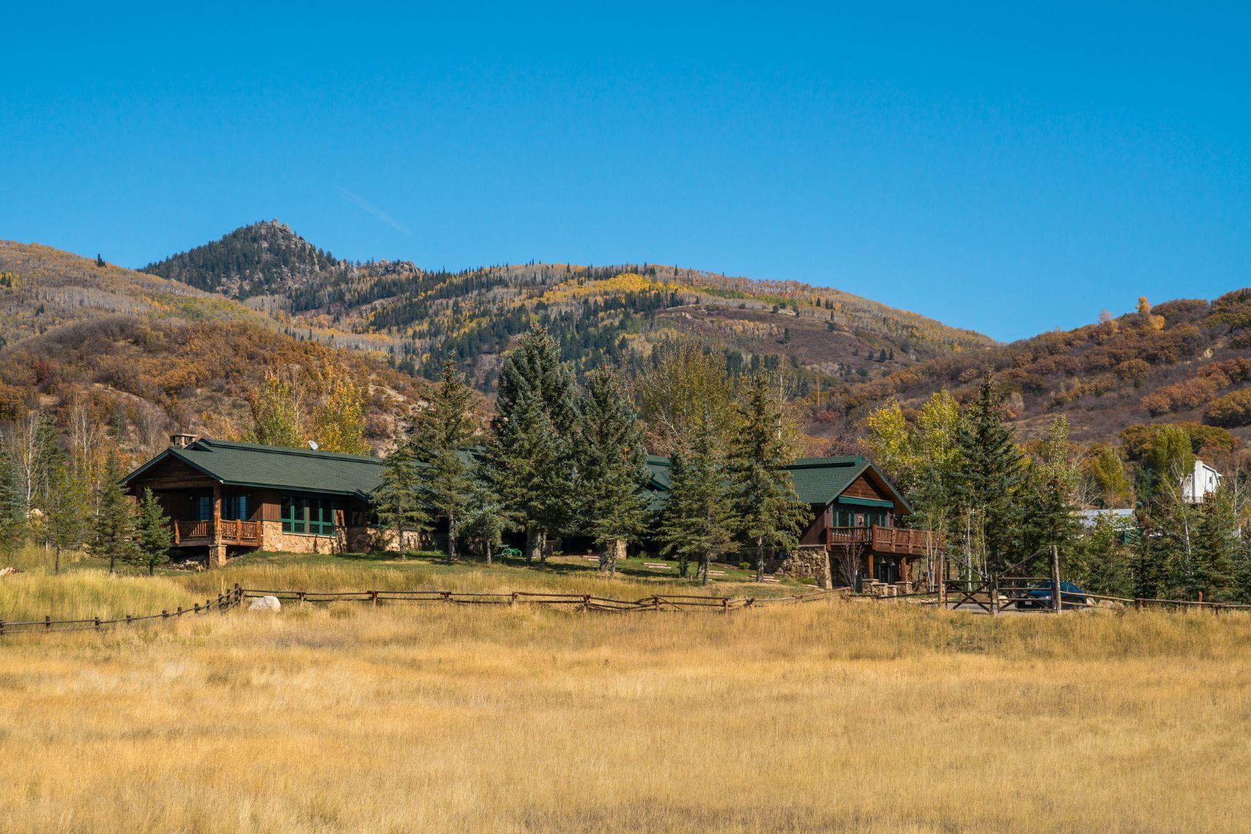 Ferme / Ranch / Plantation pour l Vente à Lazy O Ranch 43500 County Road 129 Steamboat Springs, Colorado, 80487 États-Unis