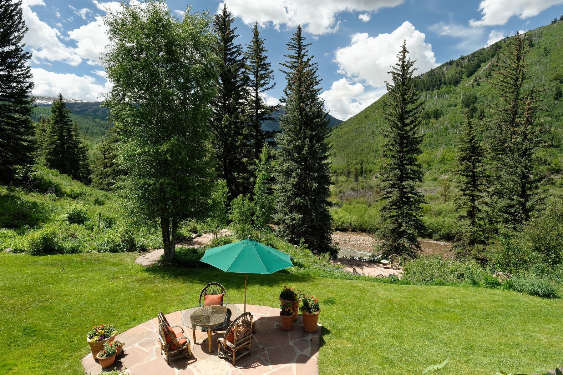Single Family Home for Active at River Hideaway with Mountain Views 9000 Snowmass Creek Rd Snowmass, Colorado 81654 United States