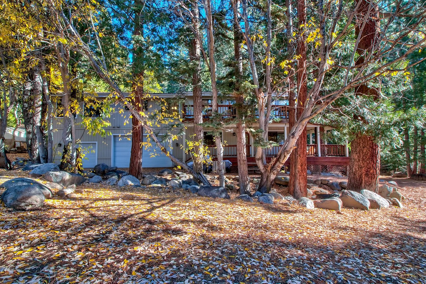 独户住宅 为 销售 在 654 Country Drive 654 Country Club Dr. Incline Village, 内华达州, 89451 Lake Tahoe, 美国