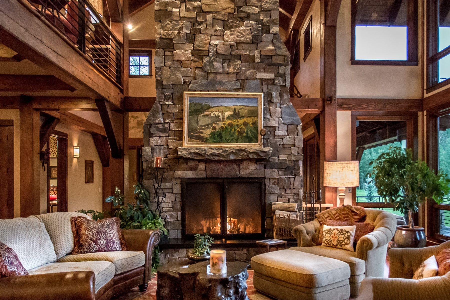 Casa para uma família para Venda às Elkins Meadow Masterpiece 2890 Bucks Path Steamboat Springs, Colorado, 80487 Estados Unidos