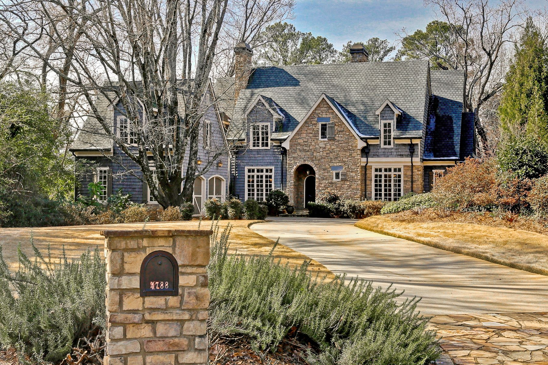 Single Family Home for Sale at Absolutely Stunning Custom Built Home In Chastain Park Area 4788 Dudley Lane Atlanta, Georgia, 30327 United States