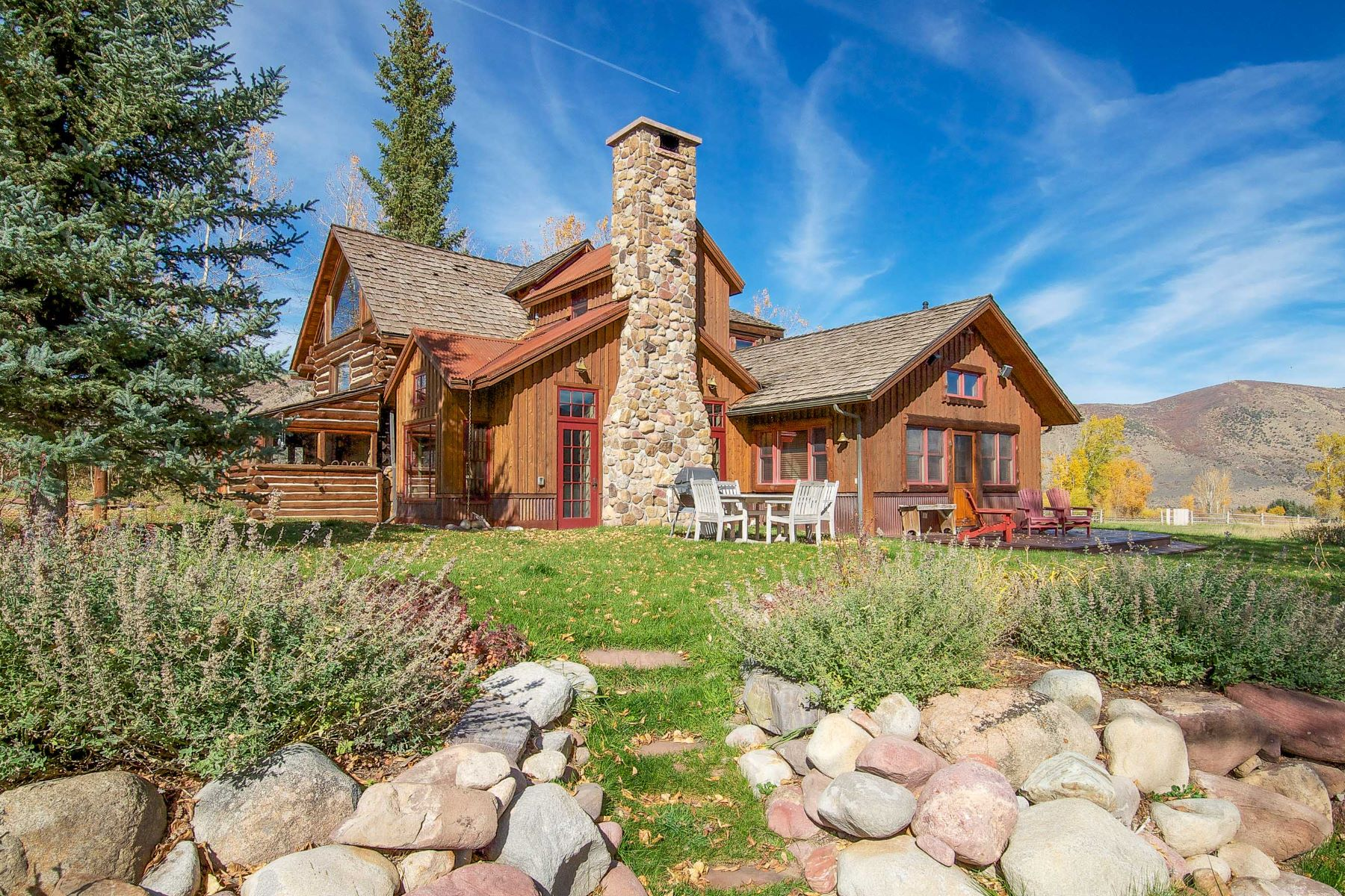 단독 가정 주택 용 매매 에 Rocky Mountain Ranch on the River 1150 Capitol Creek Road Snowmass, 콜로라도, 81654 미국